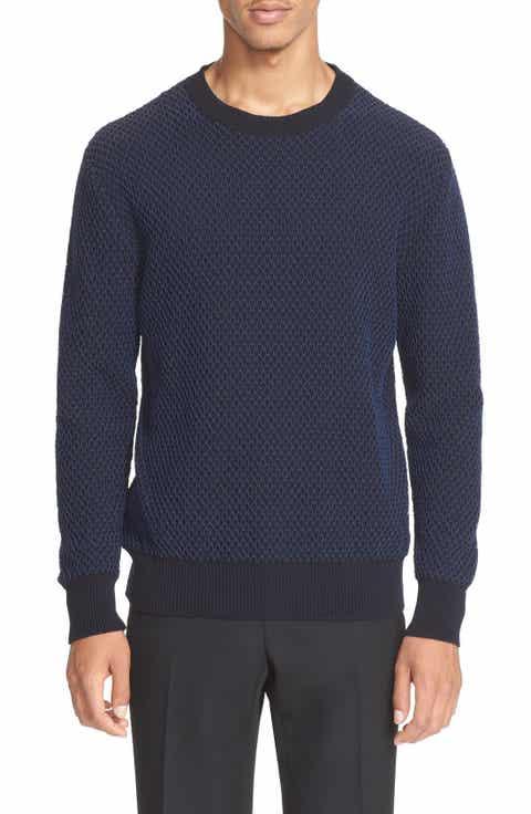 Givenchy 'Fishnet' Crewneck Sweater