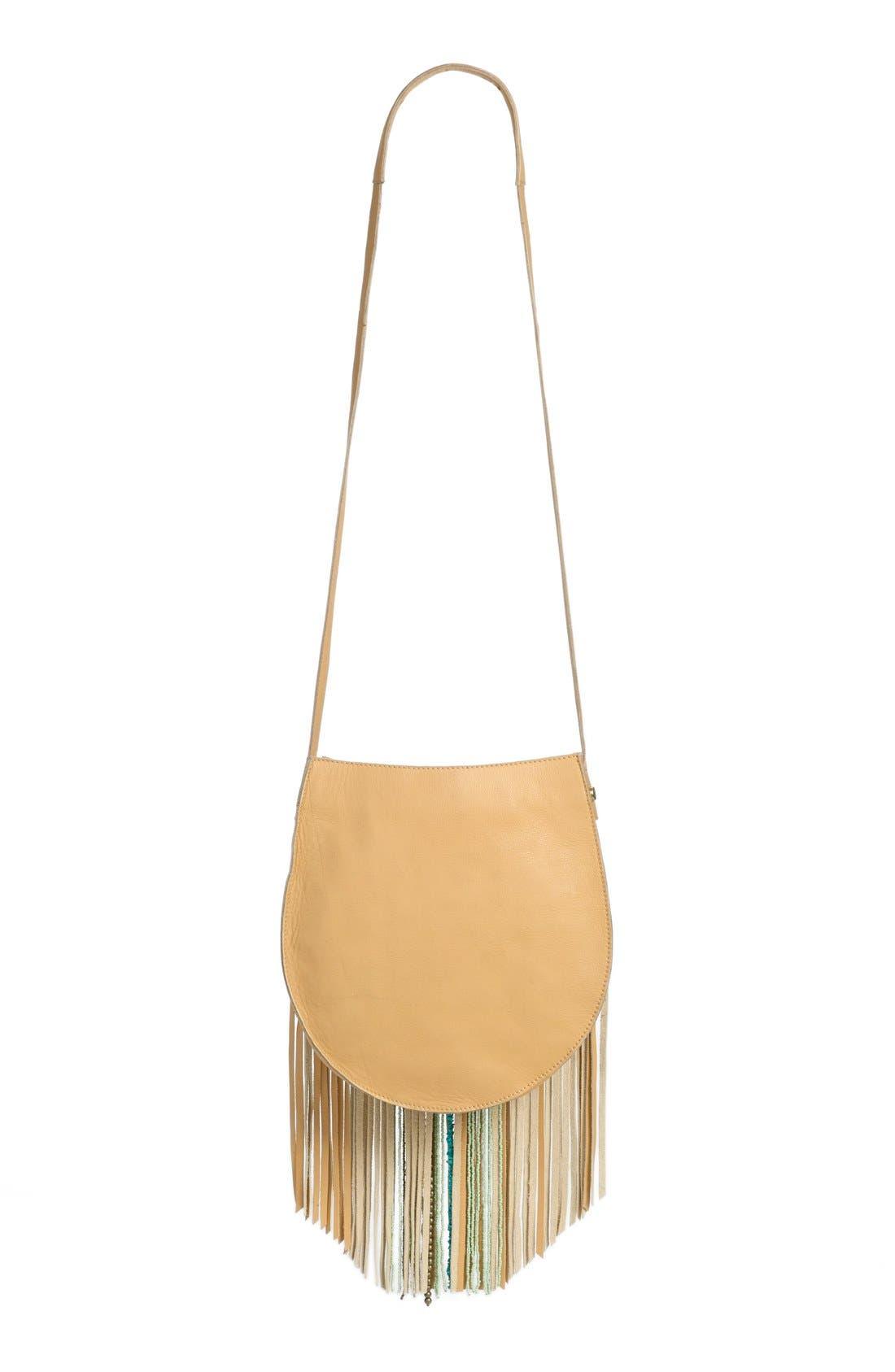 Alternate Image 4  - Sam Edelman 'Karina' Fringe Leather Shoulder Bag