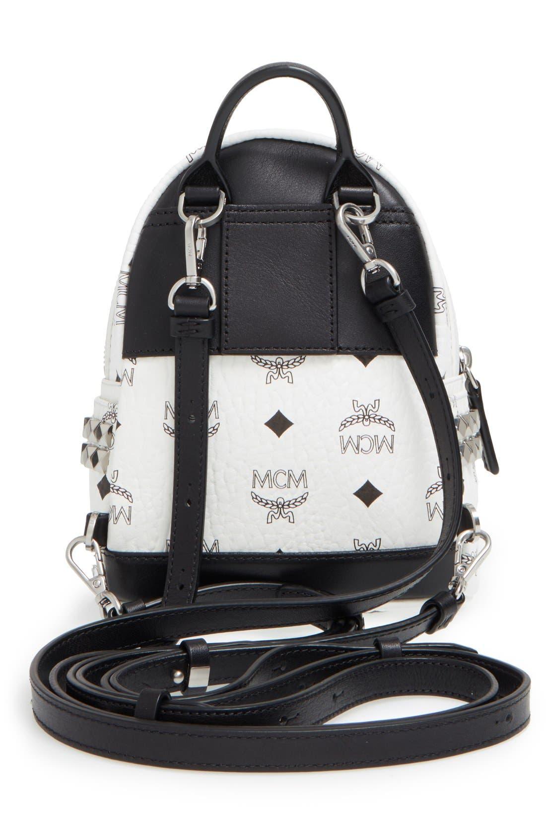 Alternate Image 3  - MCM 'X-Mini Stark Side Stud' Convertible Backpack