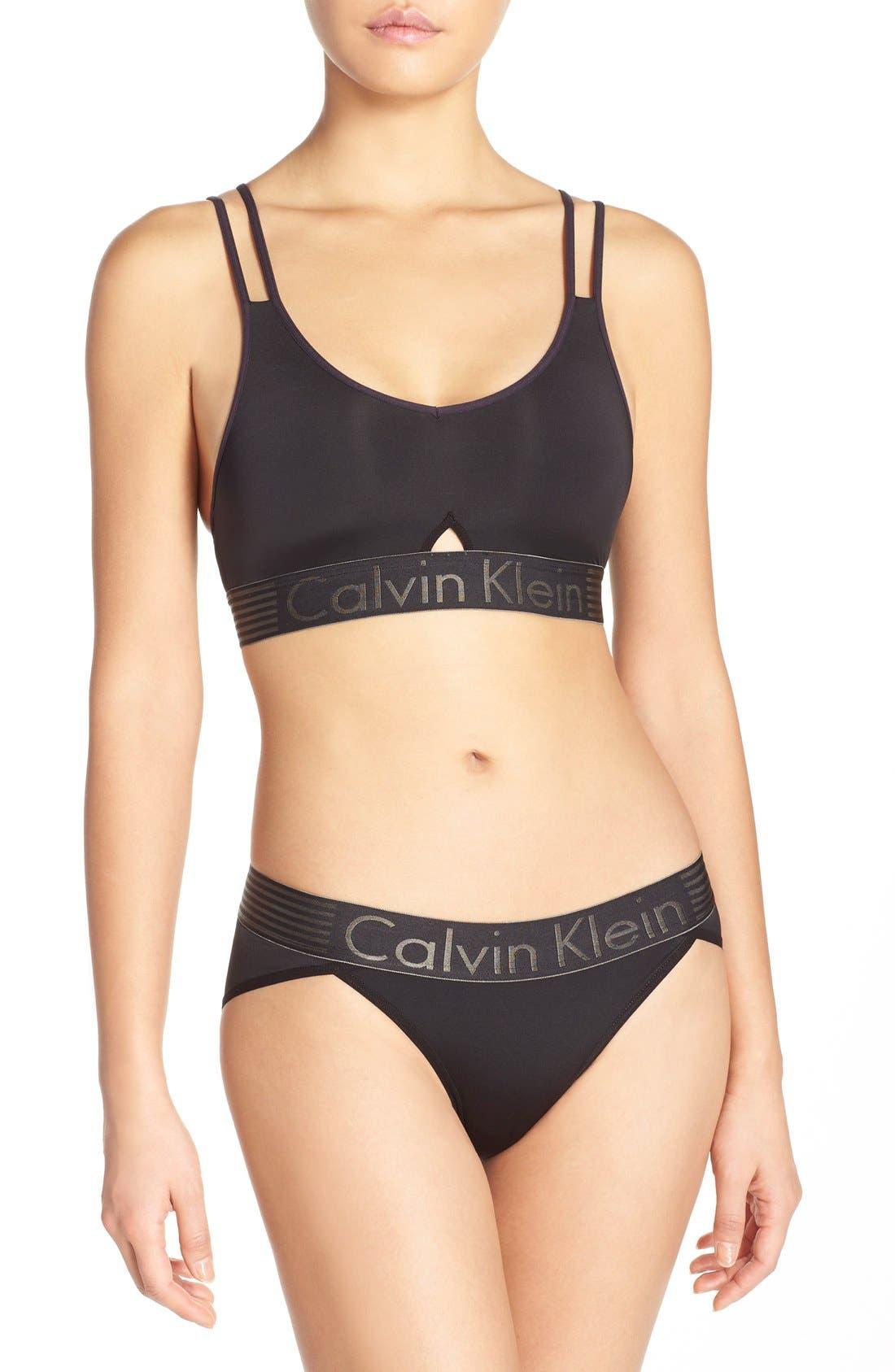 Calvin Klein 'Iron Strength' Bralette & Bikini