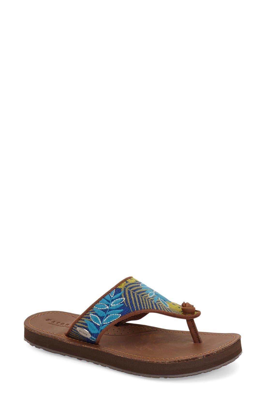Acorn 'Artwalk' Flip Flop (Women)