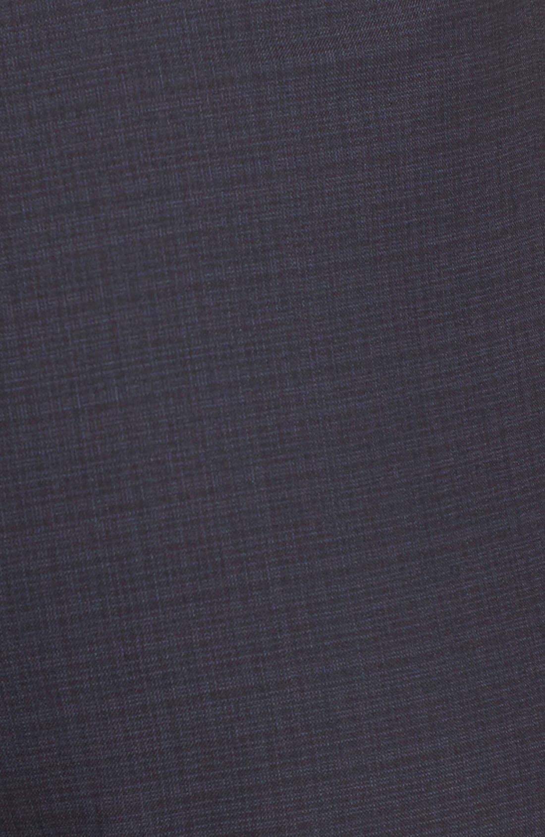 Alternate Image 5  - BOSS 'Tulea' Plaid Stretch Wool Trousers