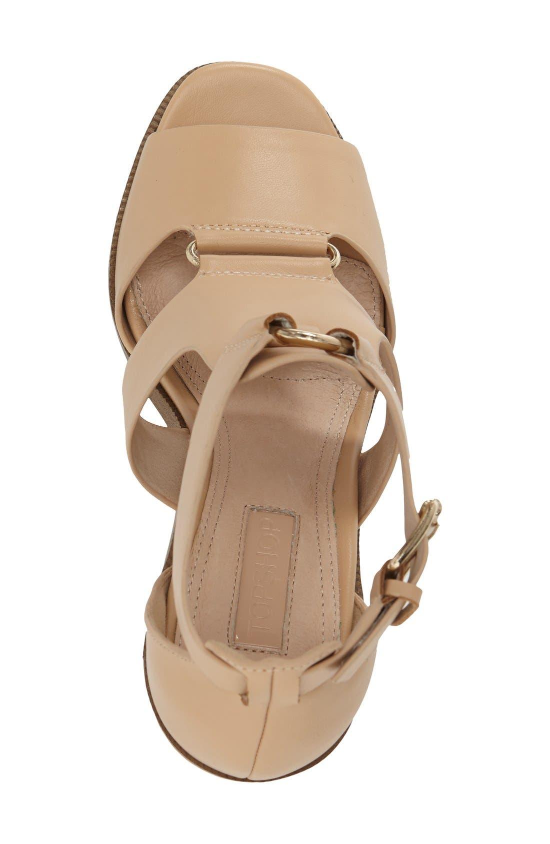 Alternate Image 3  - Topshop 'Rumba' Block Heel Sandal (Women)