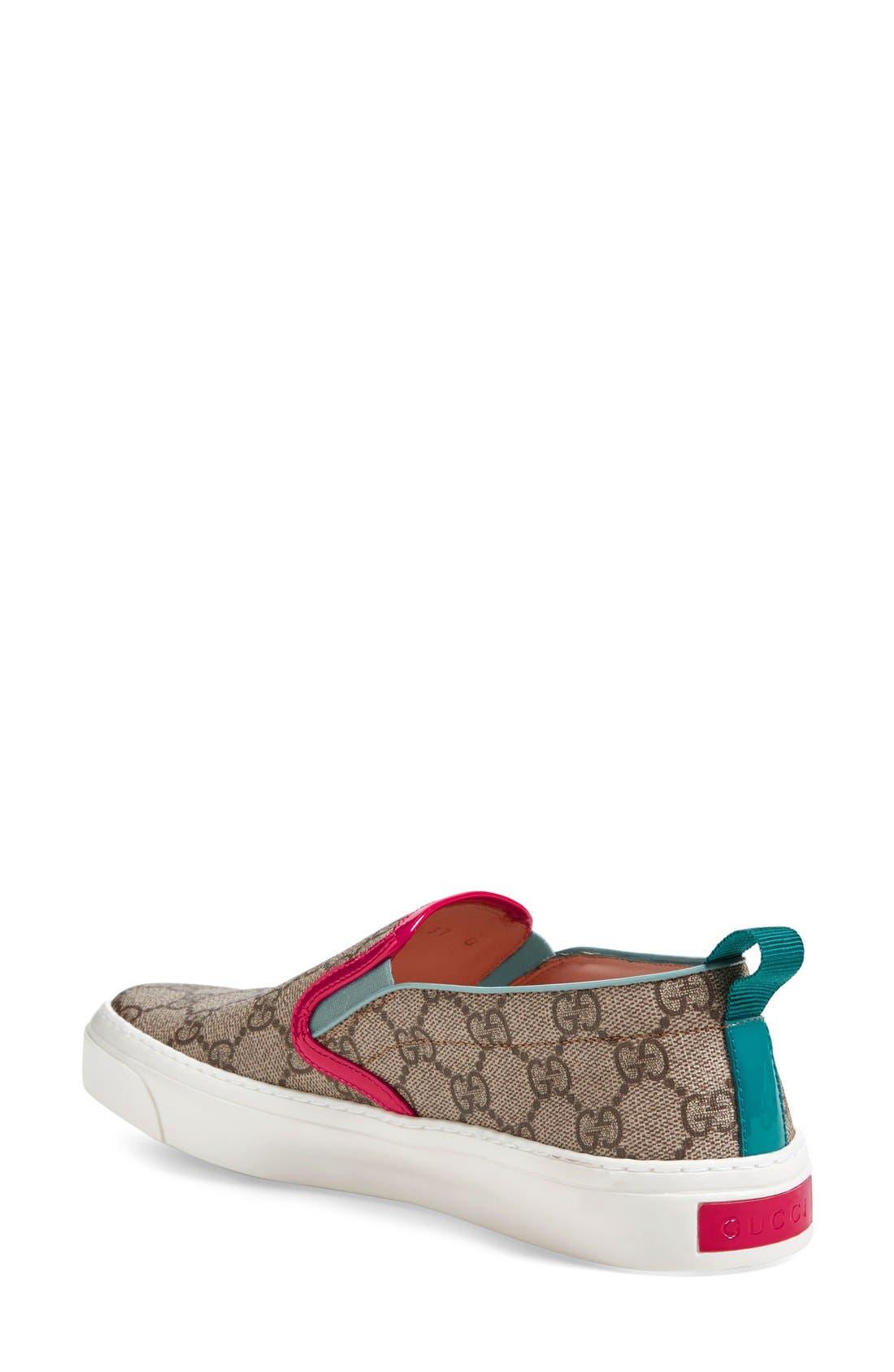 Alternate Image 2  - Gucci 'Board' Skate Slip-On (Women)