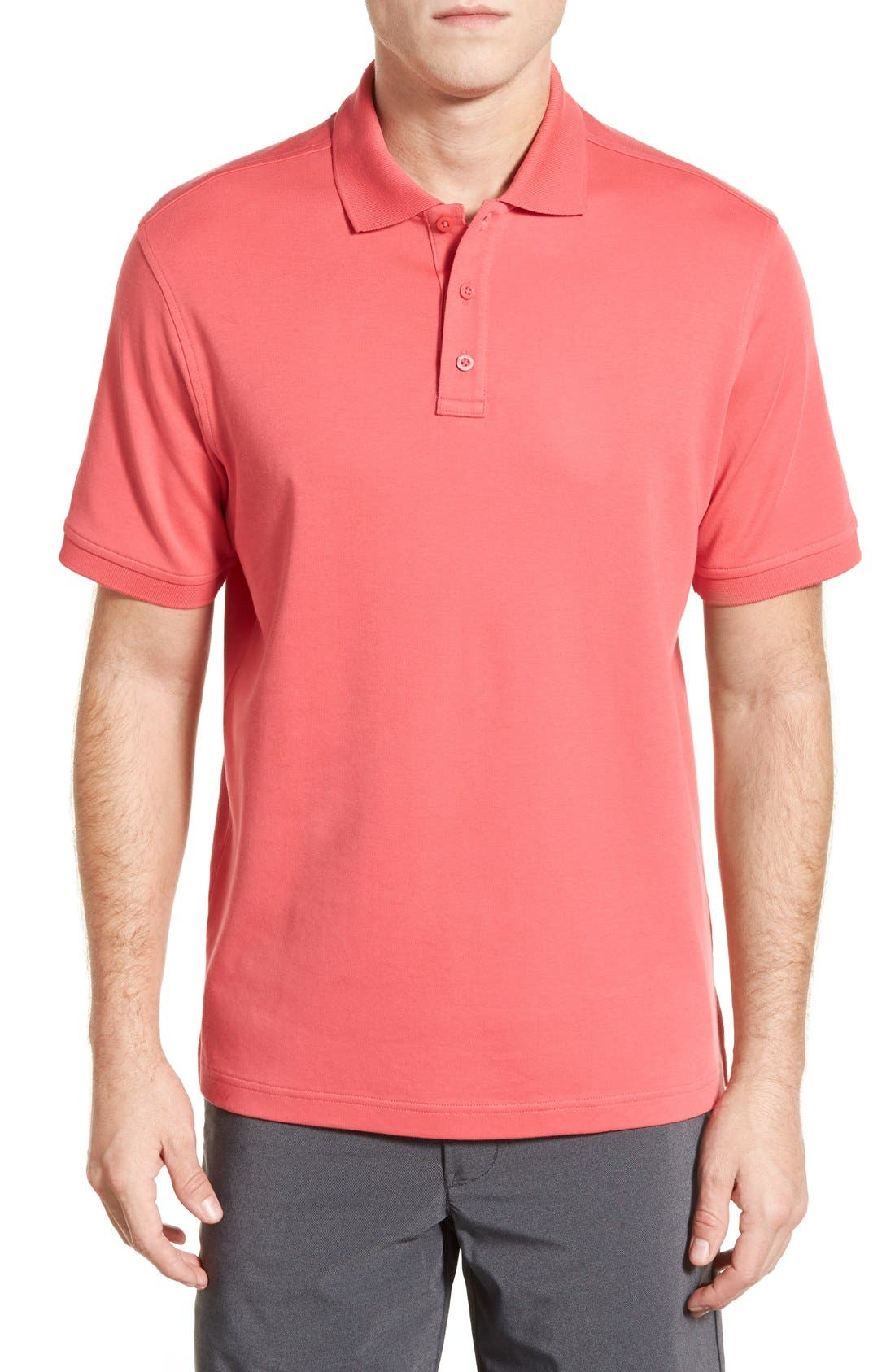 Nordstrom Men's Shop Regular Fit Interlock Knit Polo