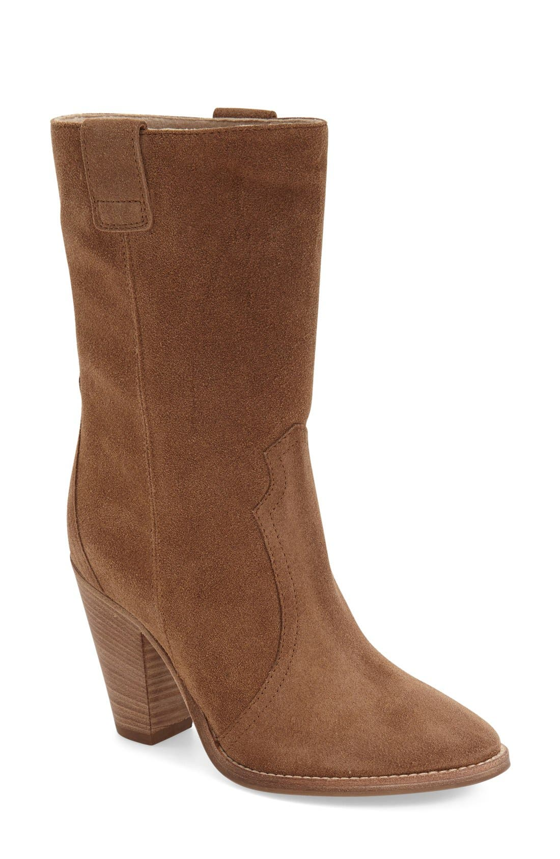 Alternate Image 1 Selected - Aquatalia 'Florence' Pointy Toe Boot (Women)