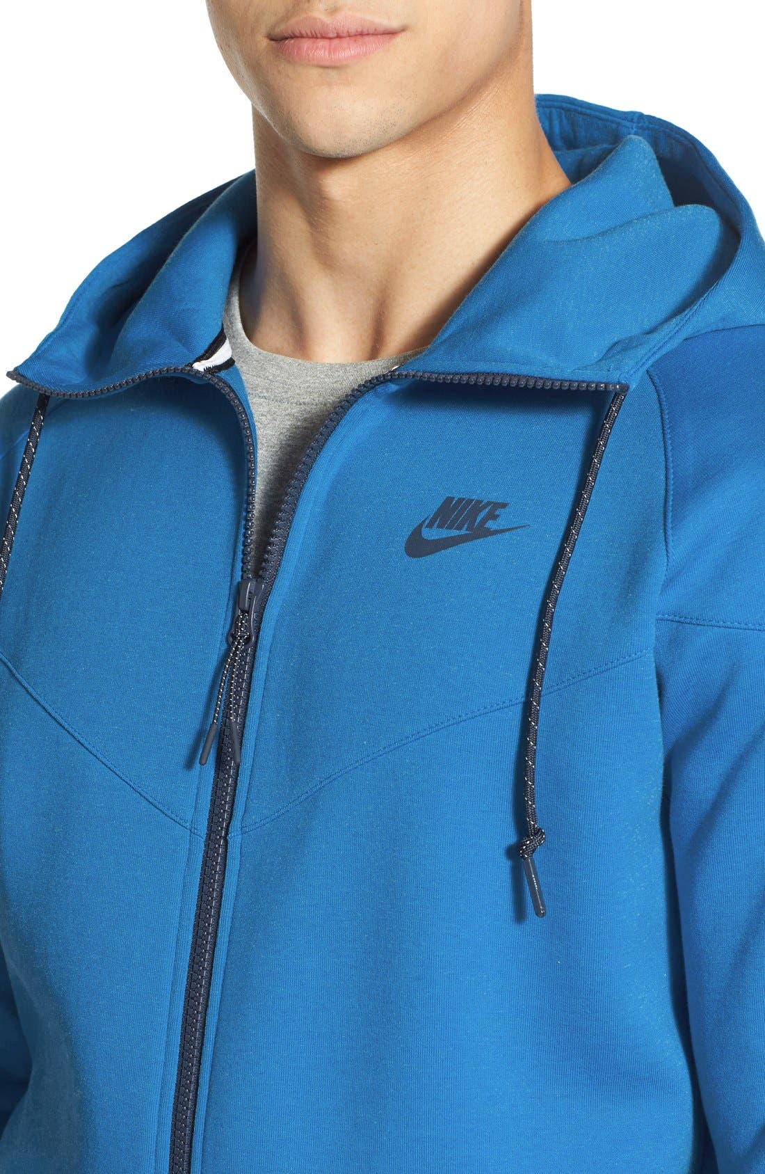Alternate Image 4  - Nike Water Repellent Tech Fleece Windrunner Jacket
