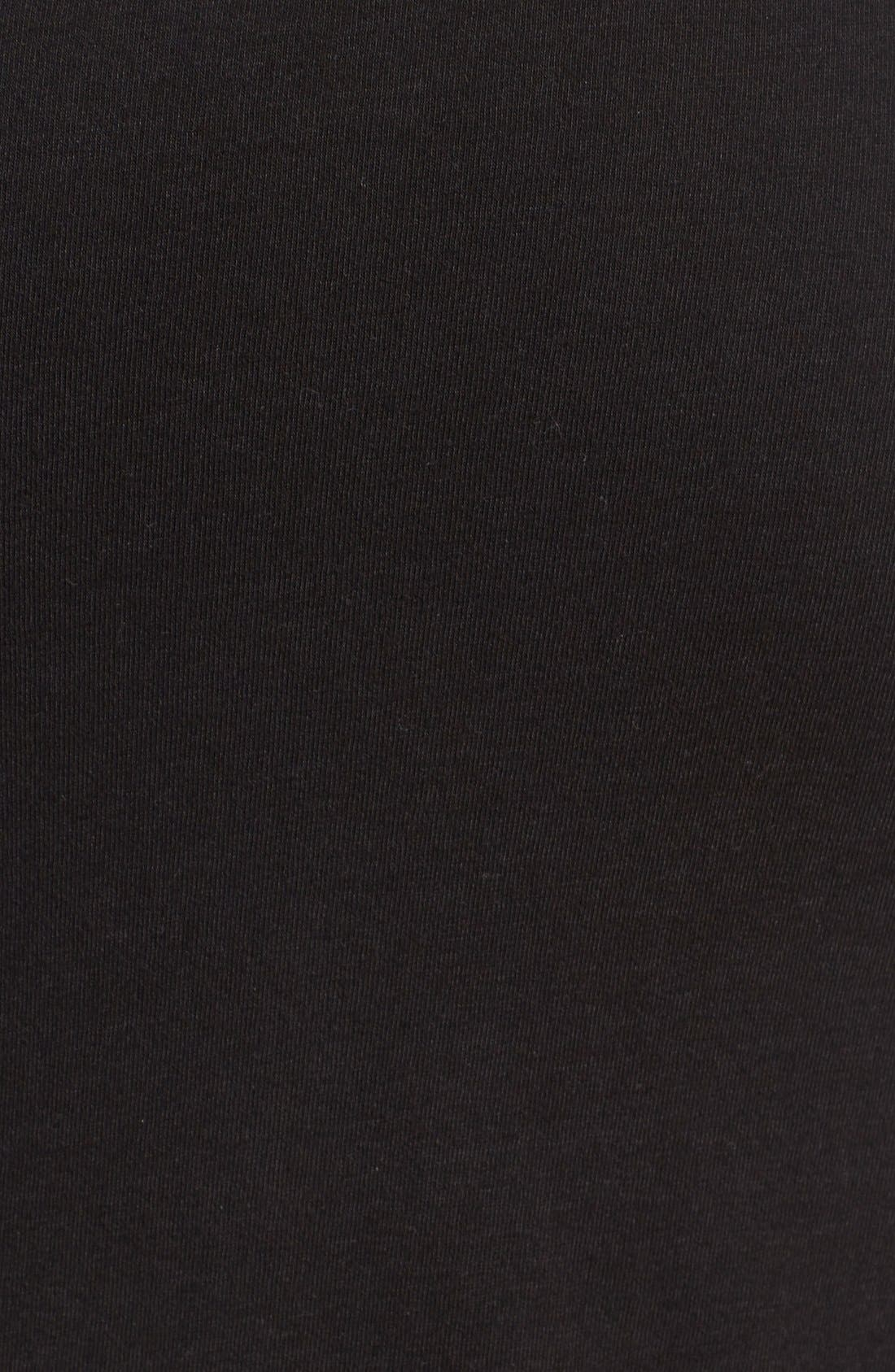 Alternate Image 5  - Pam & Gela Ruched Asymmetrical Maxi Skirt