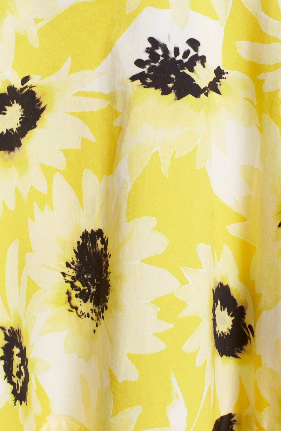 Alternate Image 6  - kate spade new york 'fiorella' floral print dress