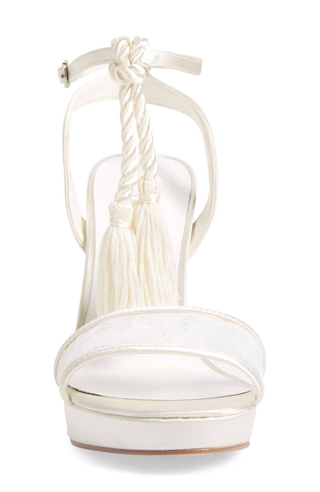 Alternate Image 6  - Menbur 'Dalila' Bridal Sandal (Women)