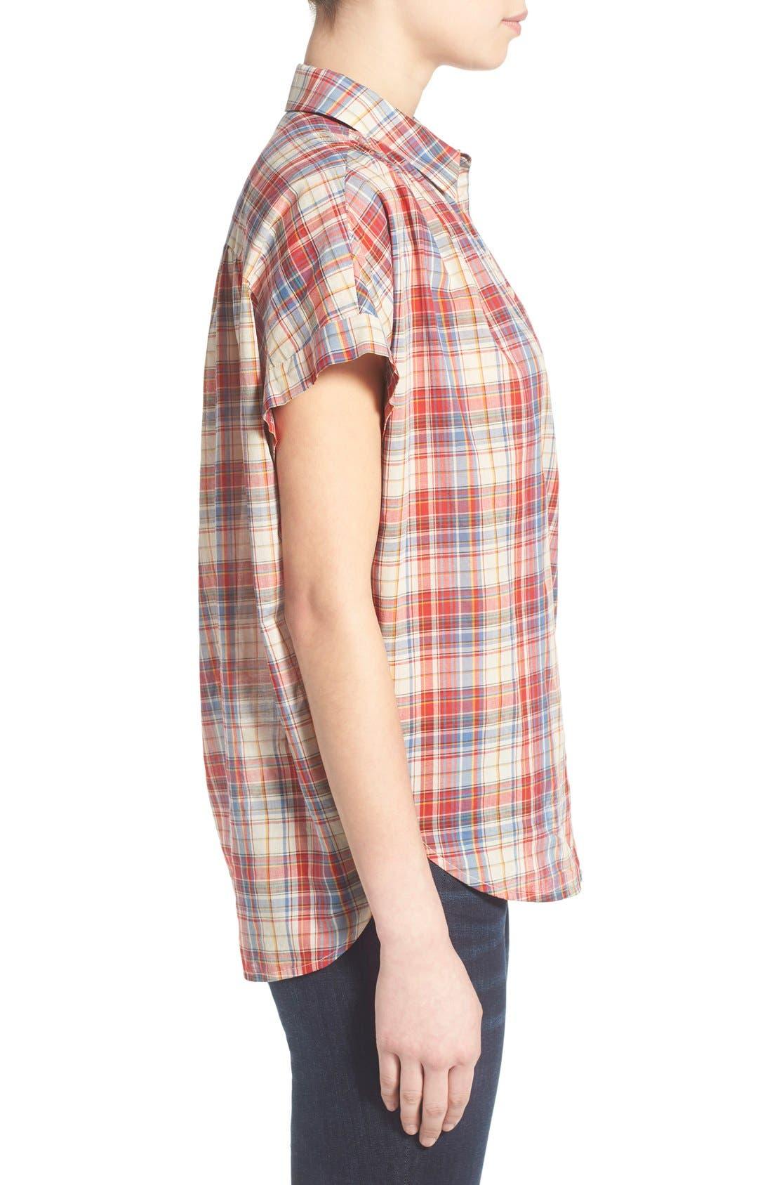 Alternate Image 3  - Madewell Plaid Boxy Cotton Shirt