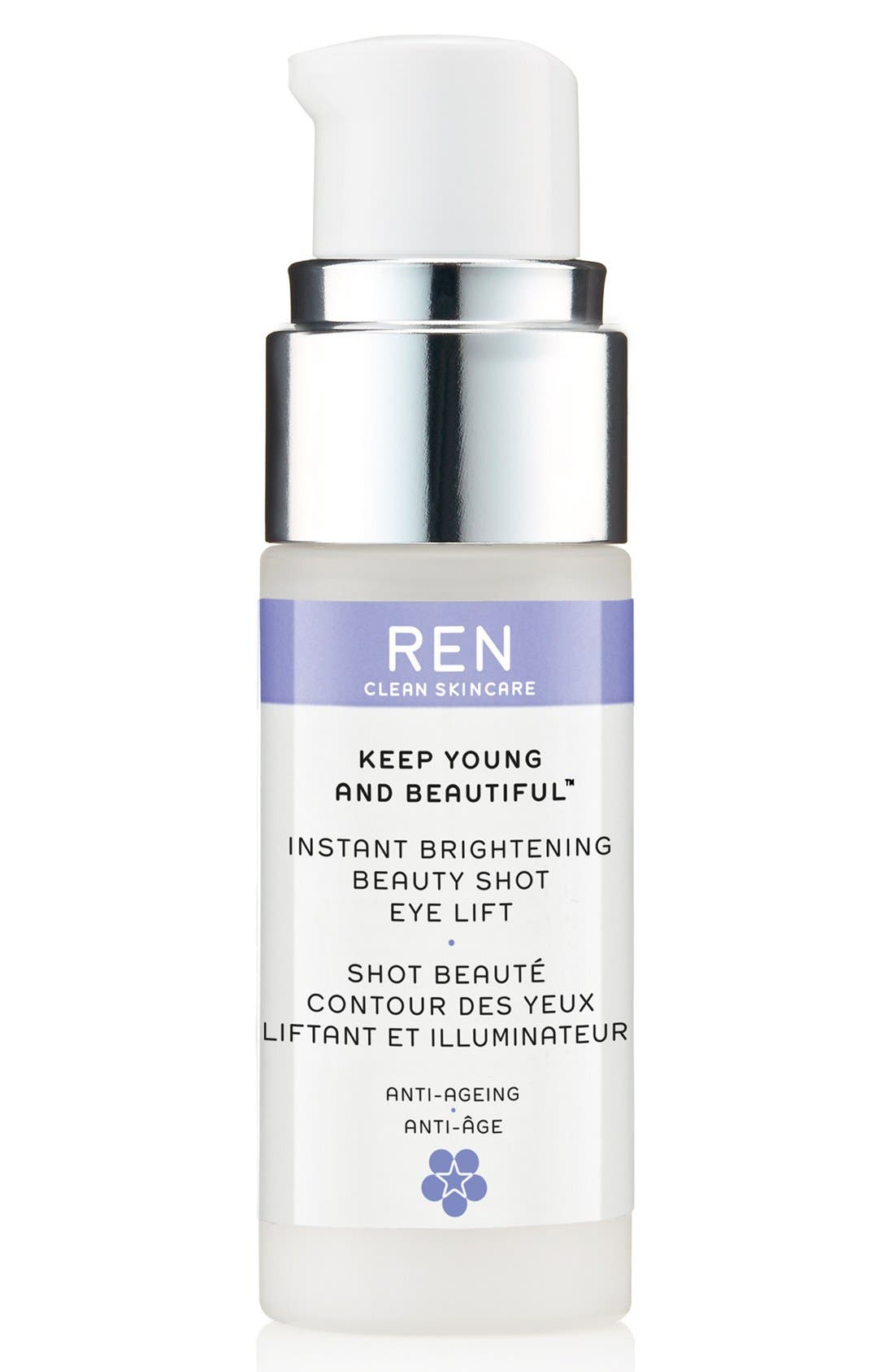 SPACE.NK.apothecary REN Keep Young and Beautiful Instant Brightening Beauty Shot Eye Lift