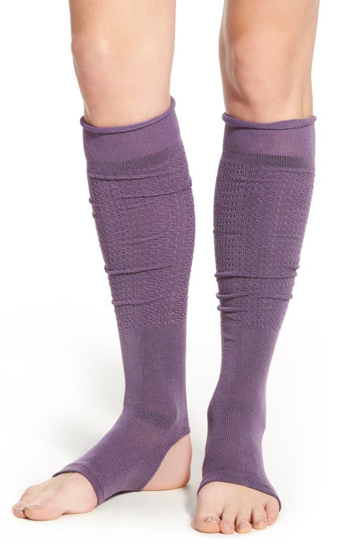 Knitting Pattern For Stirrup Leg Warmers : Yummie by Heather Thomson Stirrup Leg Warmers Nordstrom