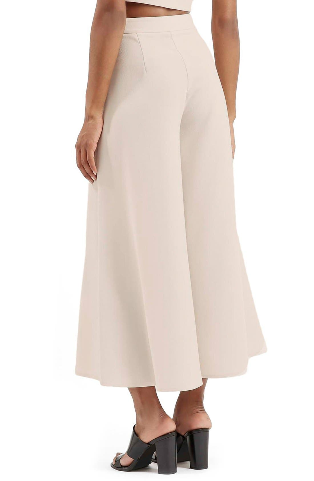 Alternate Image 3  - Topshop Palazzo Trousers