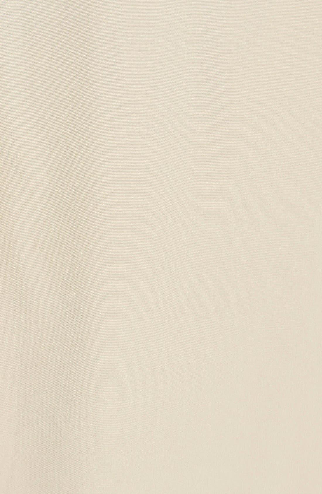 Alternate Image 5  - London Fog Double Breasted Trench Coat (Regular & Petite)