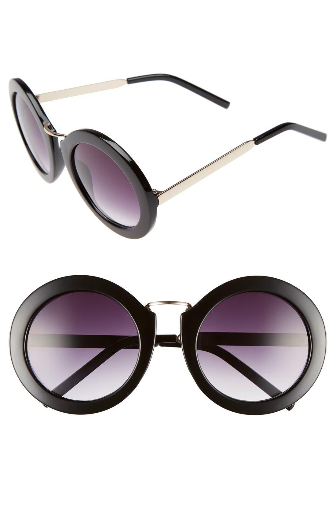Main Image - BP. 50mm Oversize Round Sunglasses