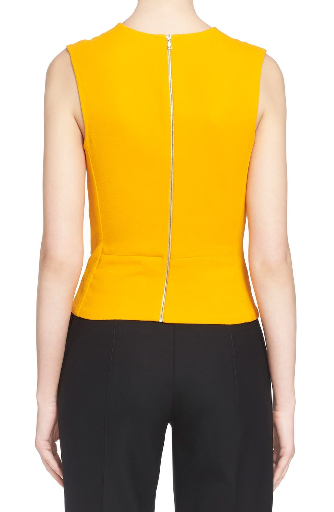 Alternate Image 2  - Narciso Rodriguez Twist Front Crepe Top