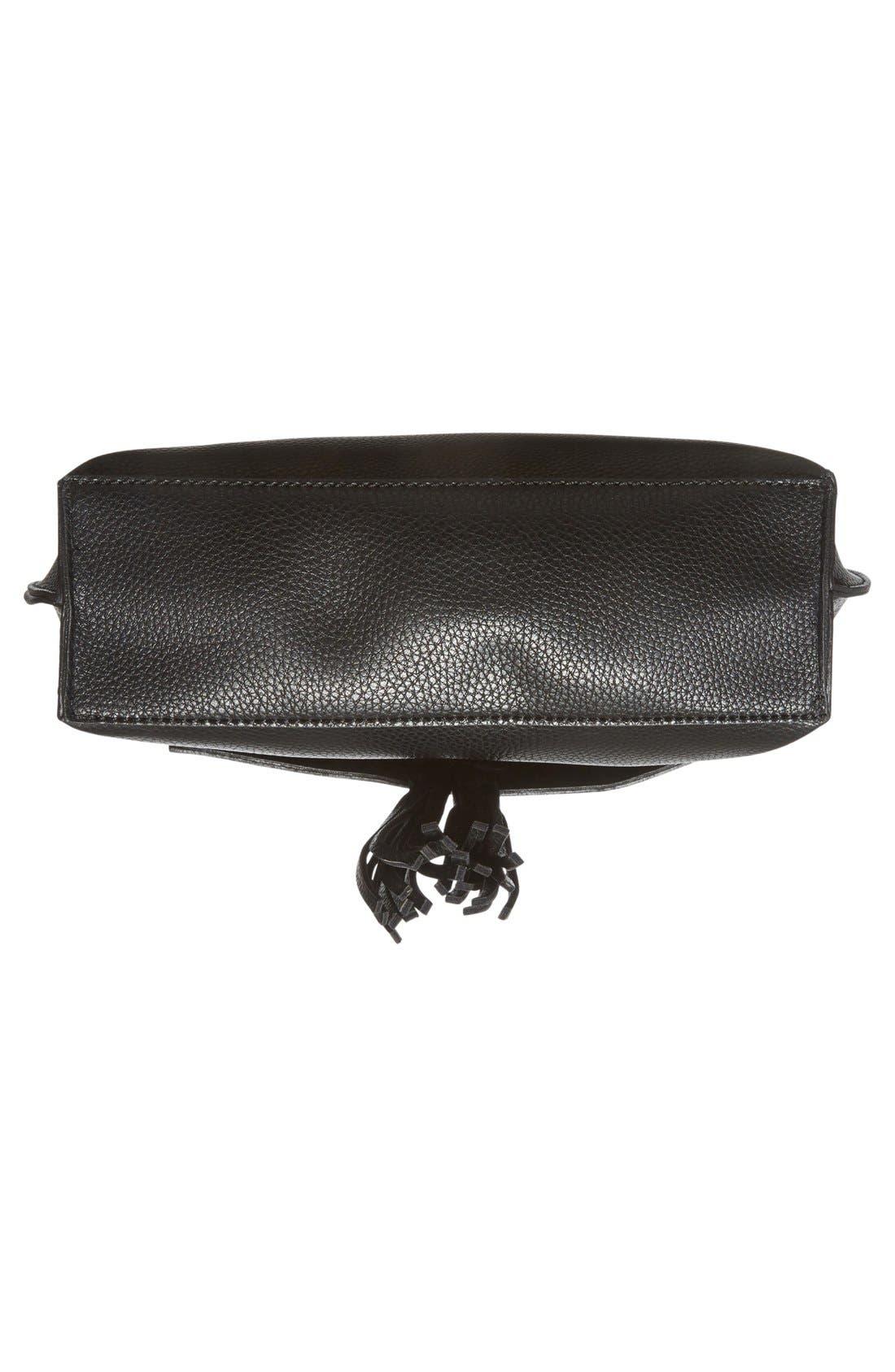 Alternate Image 6  - Sole Society Tassel Faux Leather Crossbody Bag