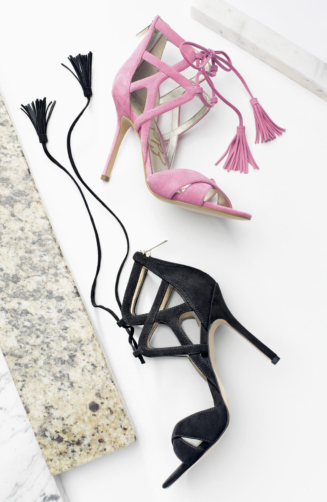 Alternate Image 5  - Sam Edelman 'Azela' Tasseled Lace-Up Sandal (Women)