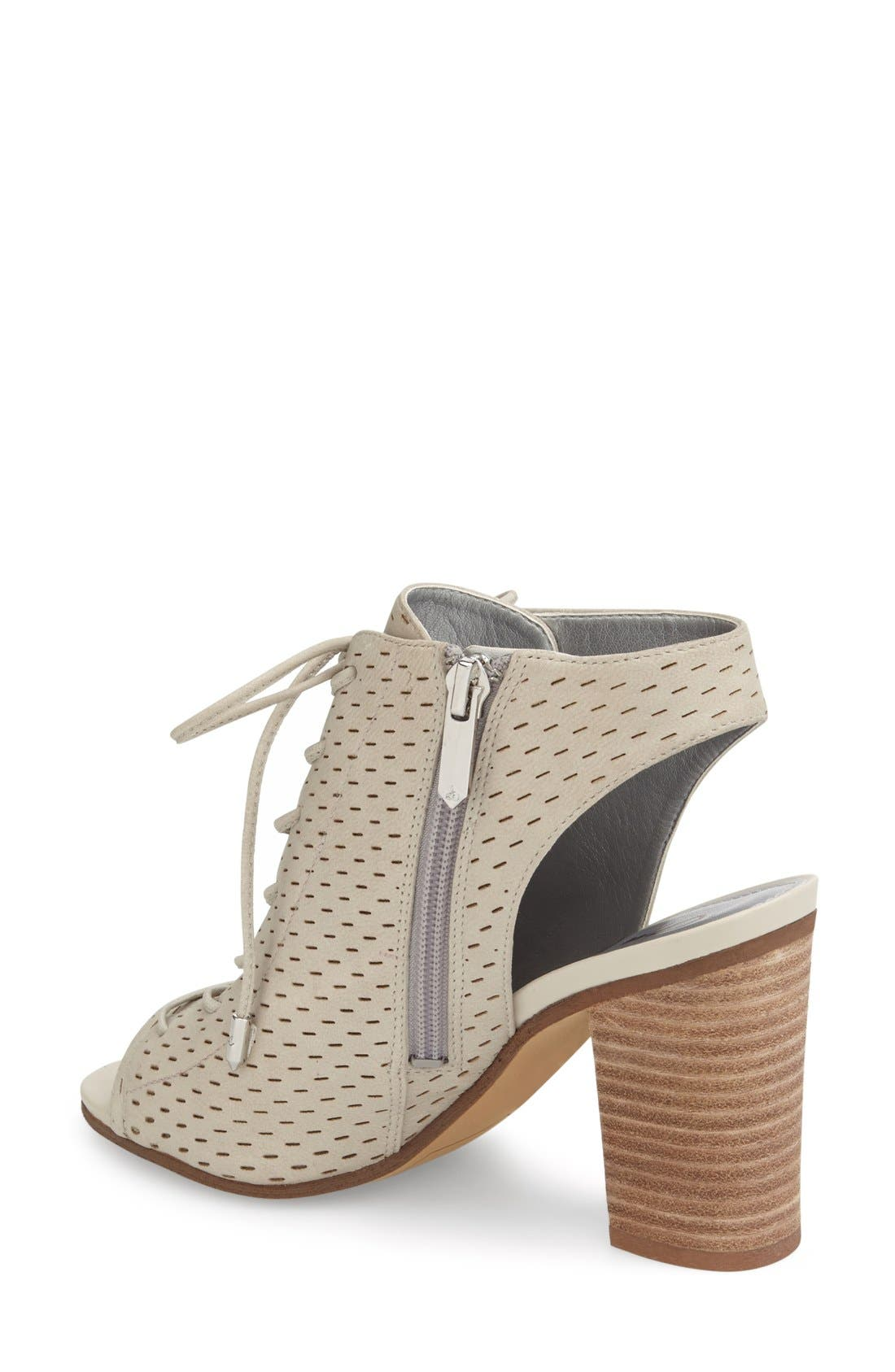Alternate Image 2  - Sam Edelman 'Ennette' Perforated Lace Up Bootie (Women)