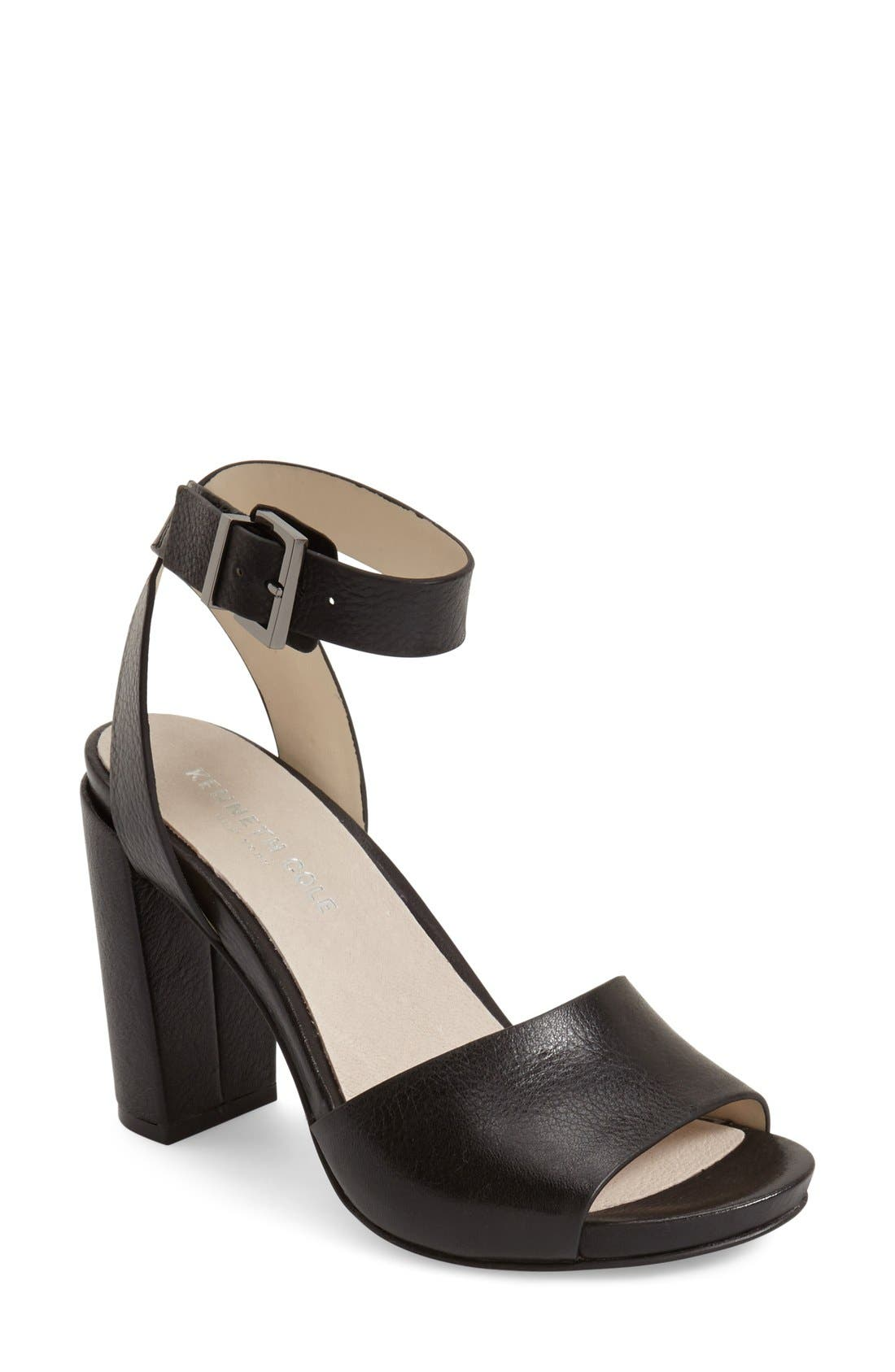 Kenneth Cole New York 'Toren' Block Heel Sandal (Women)