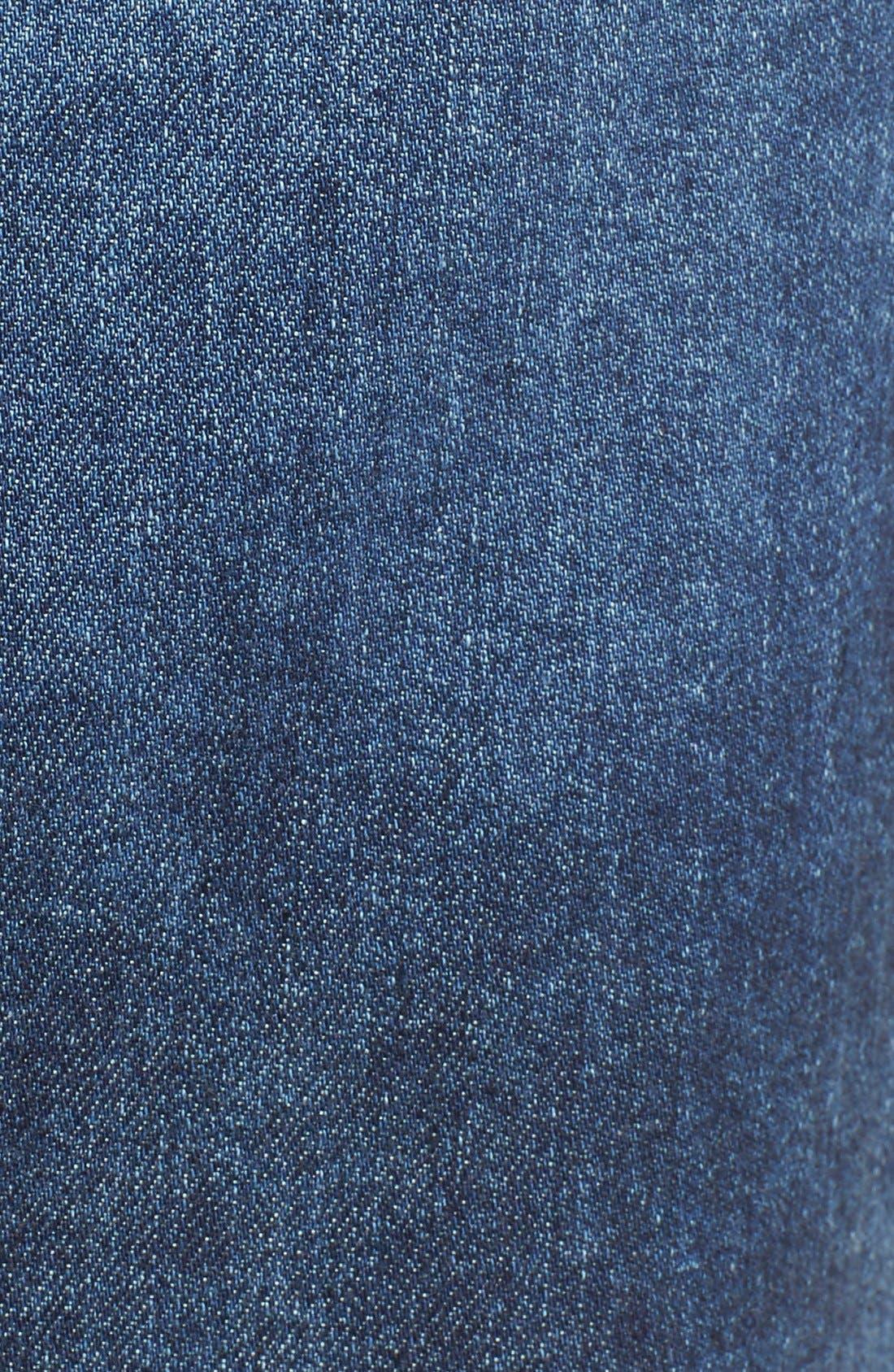 Alternate Image 5  - AG 'Erin' Cutoff Denim Skirt (Sail Away)