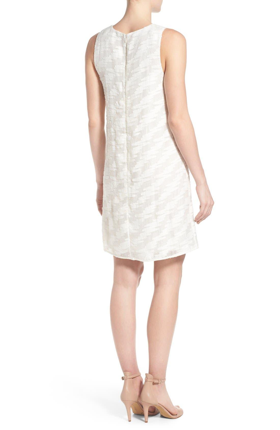 Alternate Image 2  - Halogen® Lace Detail Sheath Dress (Regular & Petite)