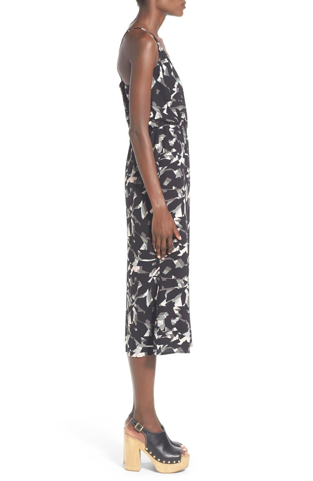 Alternate Image 3  - Leith Wrap Front Culotte Jumpsuit