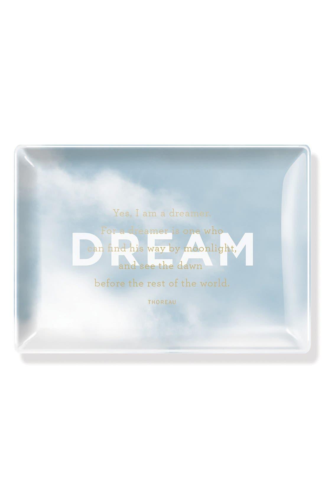 Alternate Image 1 Selected - Fringe Studio 'Dream' Glass Tray