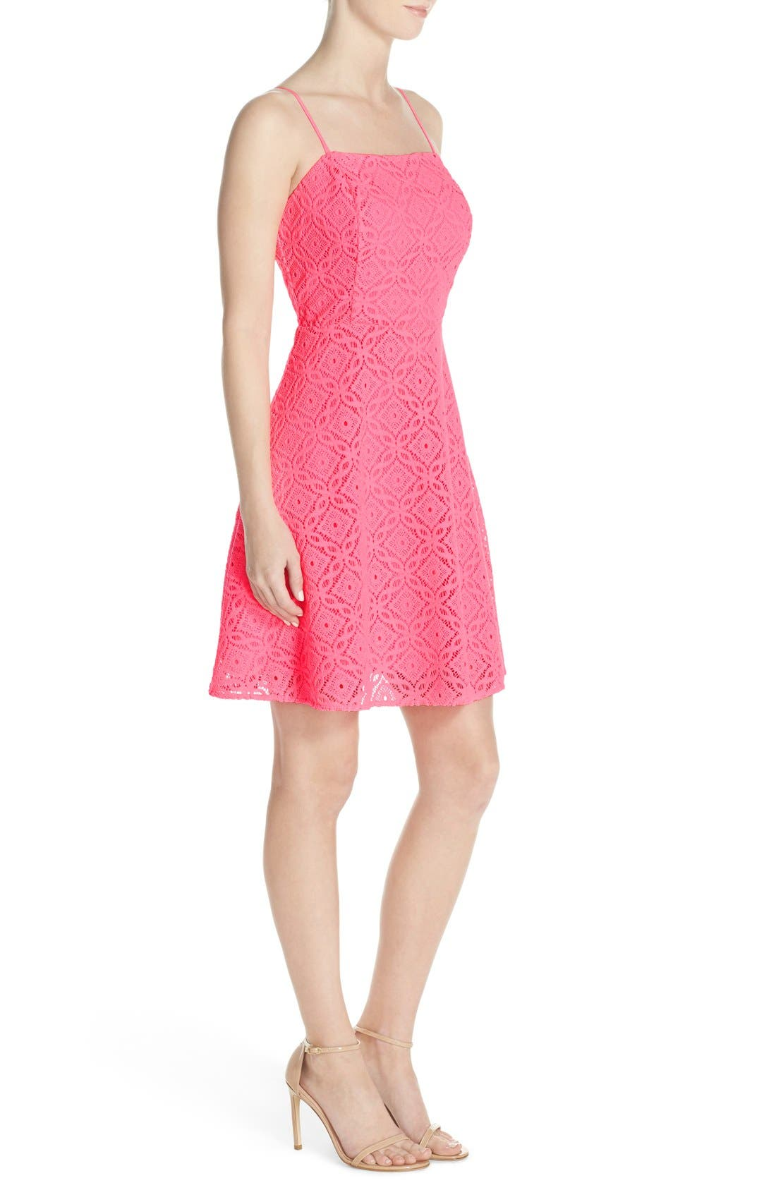 Alternate Image 3  - Lilly Pulitzer® 'Jennilee' Lace Fit & Flare Dress