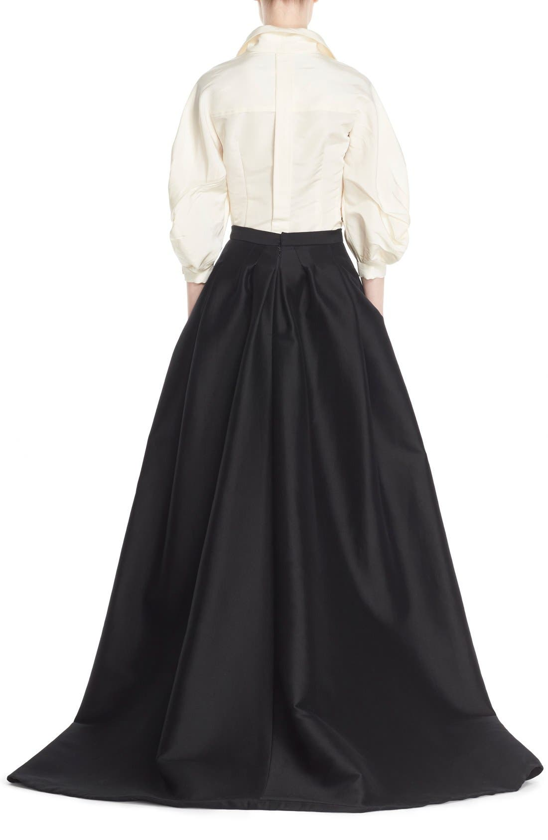 Alternate Image 2  - Carolina Herrera Full Length Evening Skirt