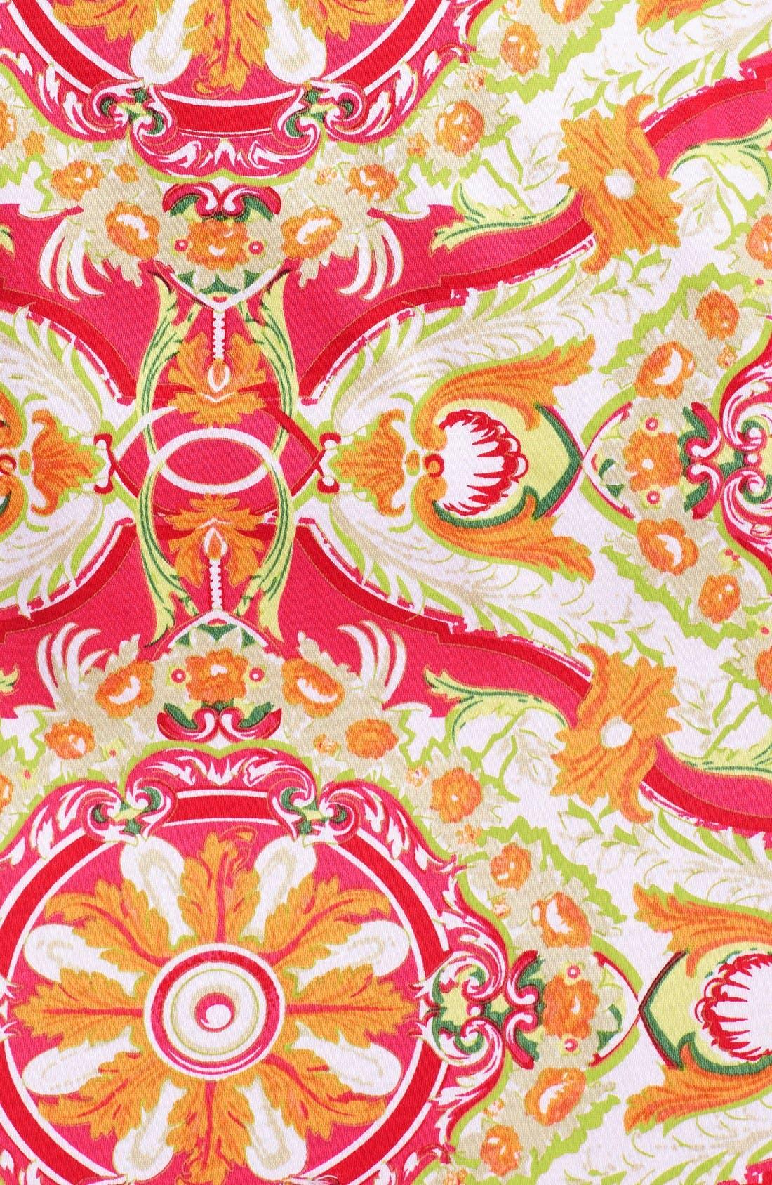 Alternate Image 5  - Chetta B Print Sateen Sheath Dress
