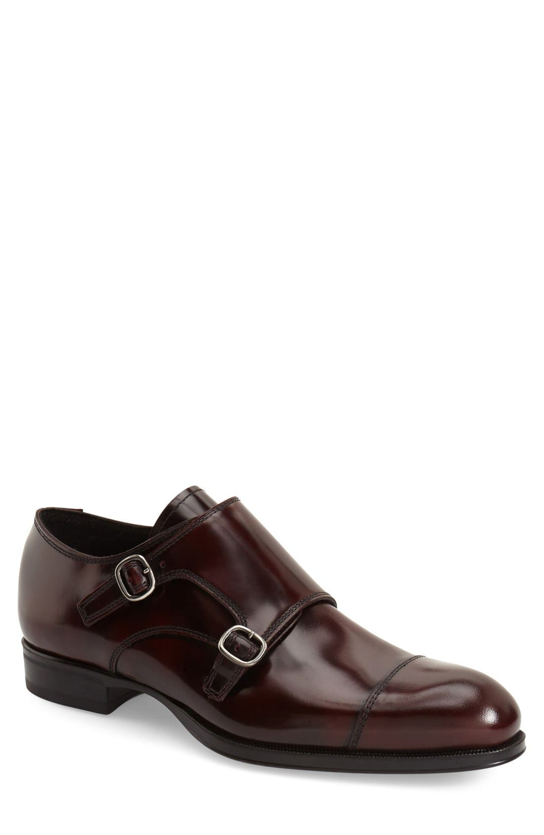 Alternate Image 1 Selected - To Boot New York 'Bailey' Double Monk Strap Shoe (Men)