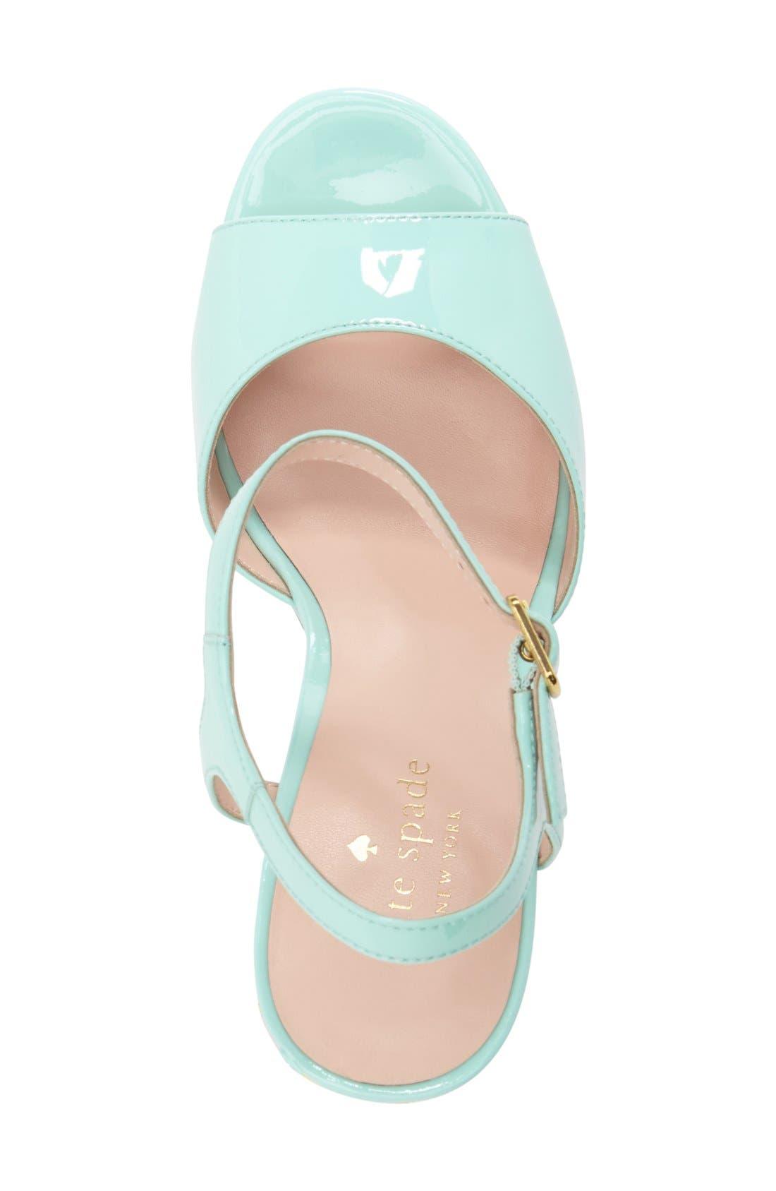 Alternate Image 3  - kate spade new york 'dotty' wedge sandal (Women)