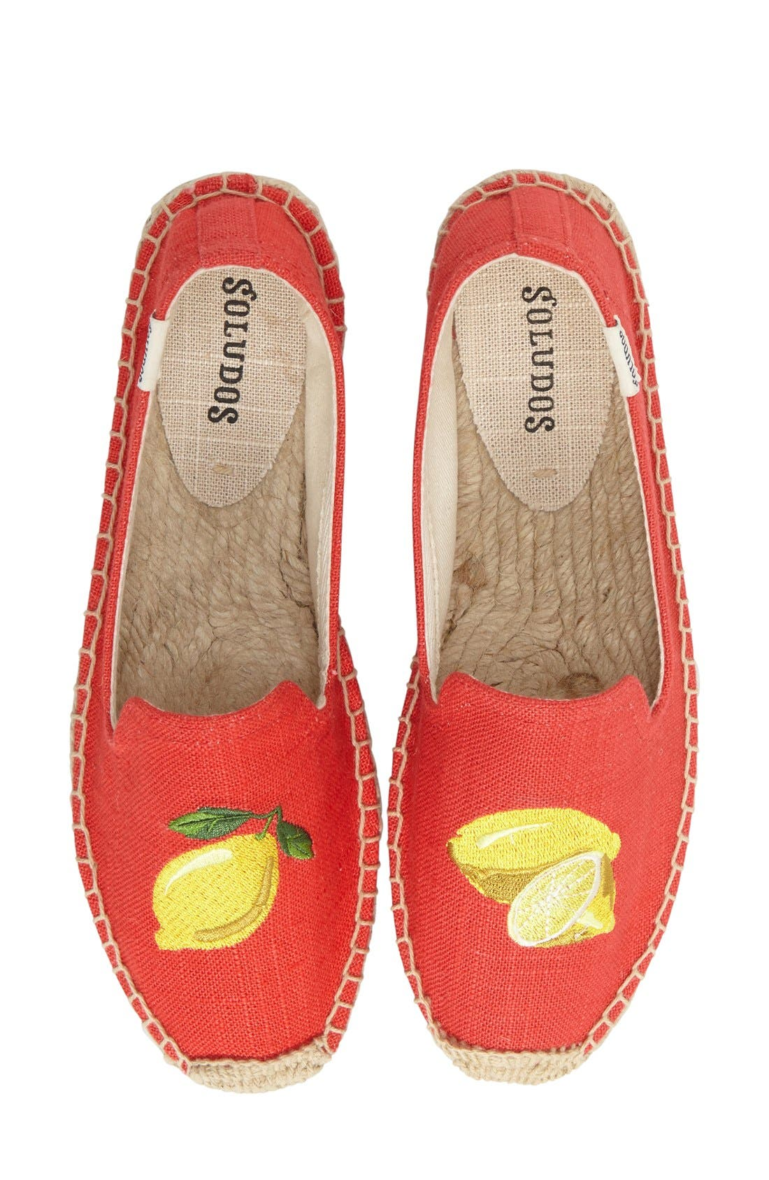 Alternate Image 5  - Soludos Embroidered Flat (Women)