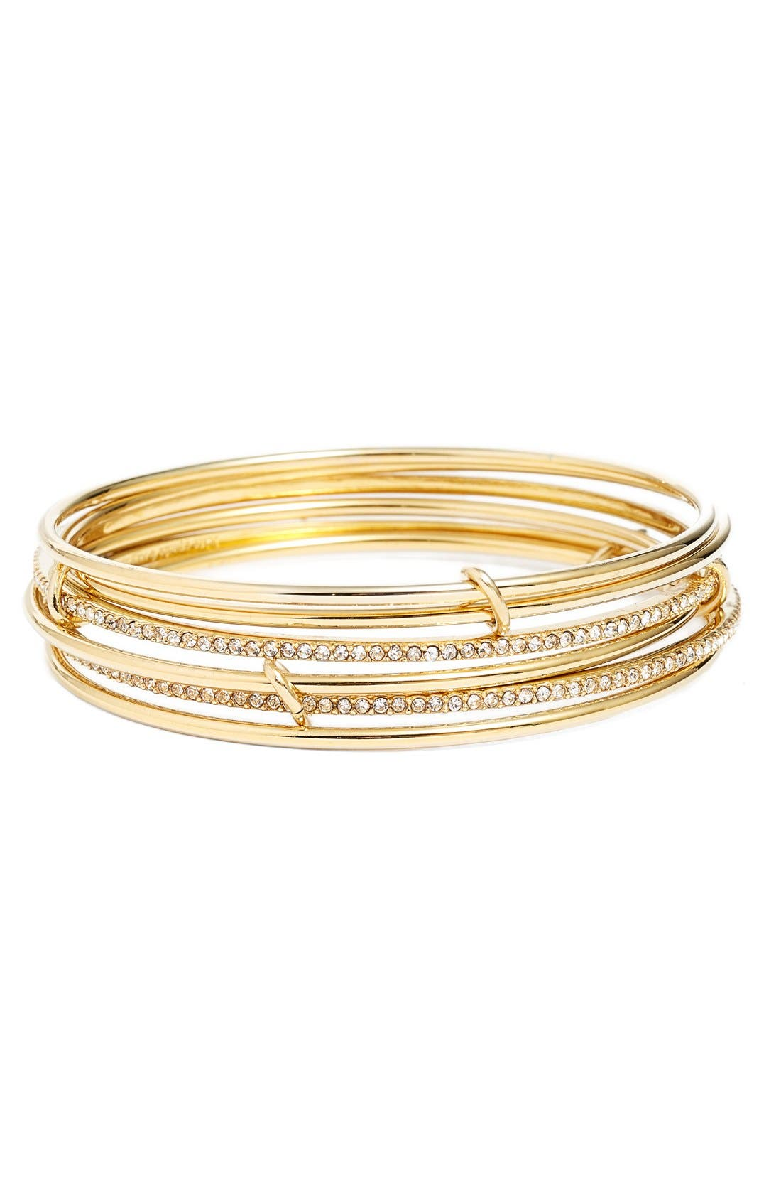 Alternate Image 1 Selected - kate spade new york 'stack attack' set of six bangles