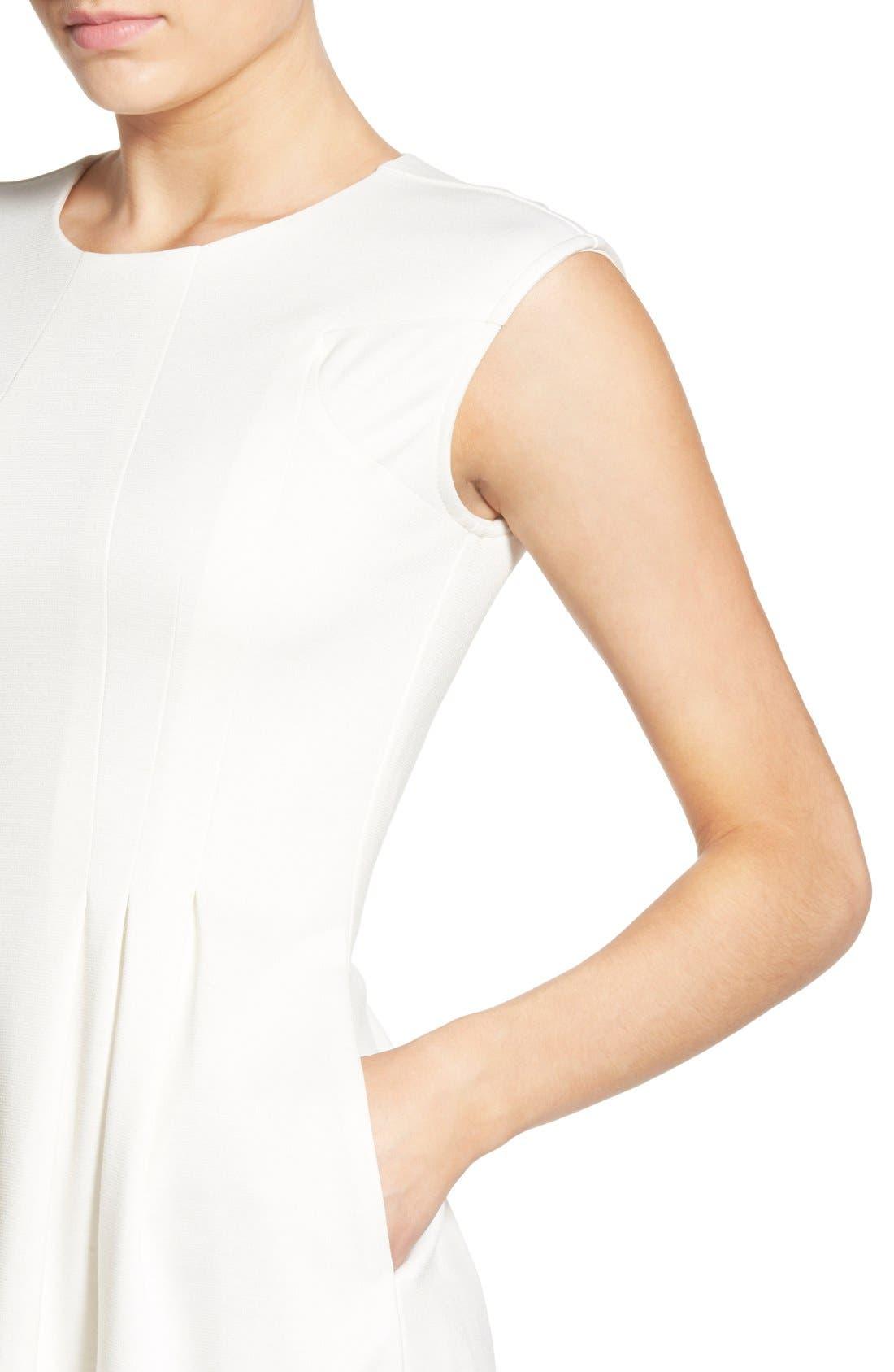 Alternate Image 4  - Speechless Cap Sleeve Skater Dress
