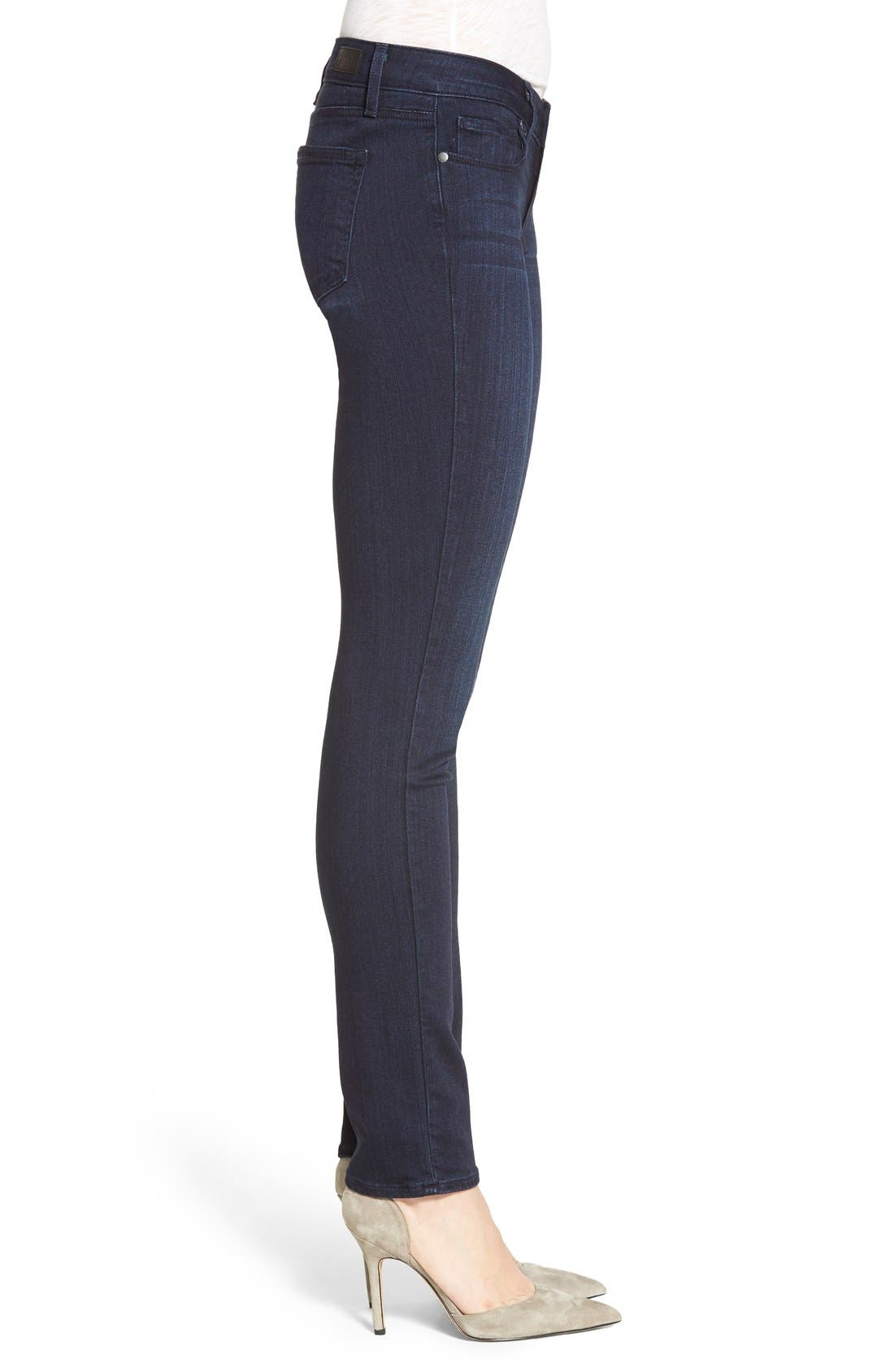 Alternate Image 3  - PAIGE 'Skyline' Skinny Jeans (Everdeen) (Nordstrom Exclusive)