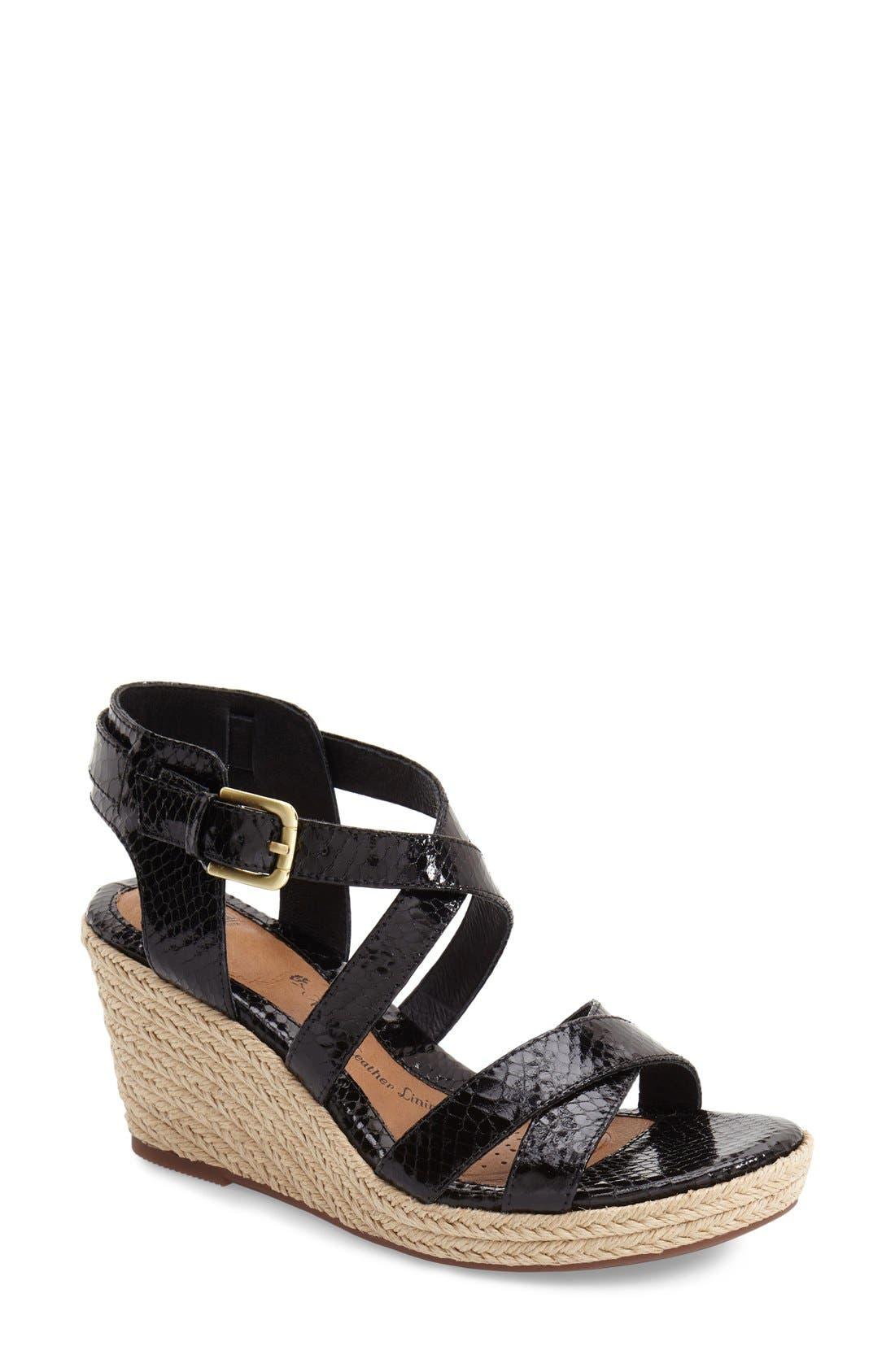 Main Image - Söfft 'Inez' Wedge Sandal (Women)