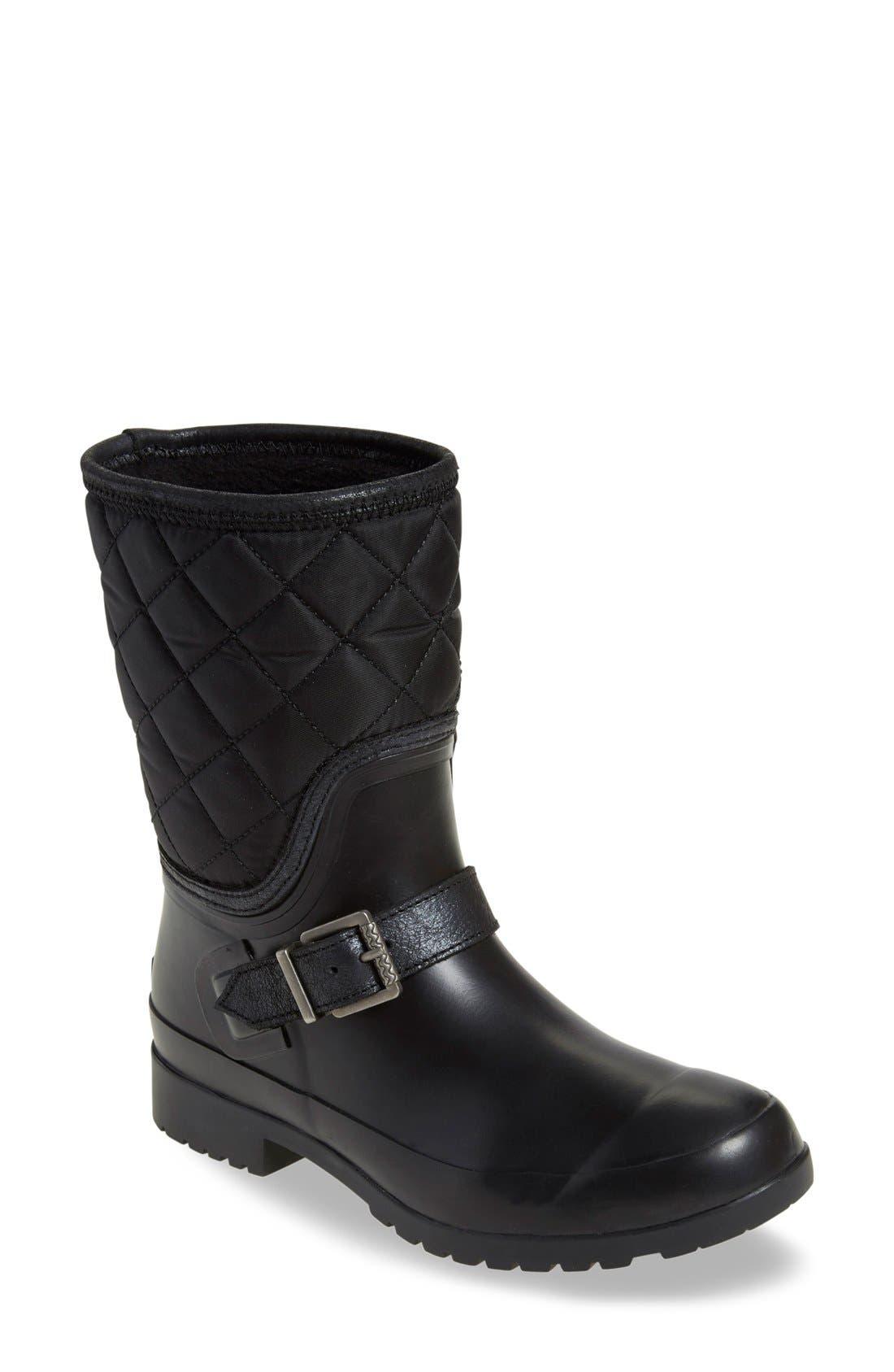 Main Image - Sperry Walker Gray Nylon Quilt Boot (Women)