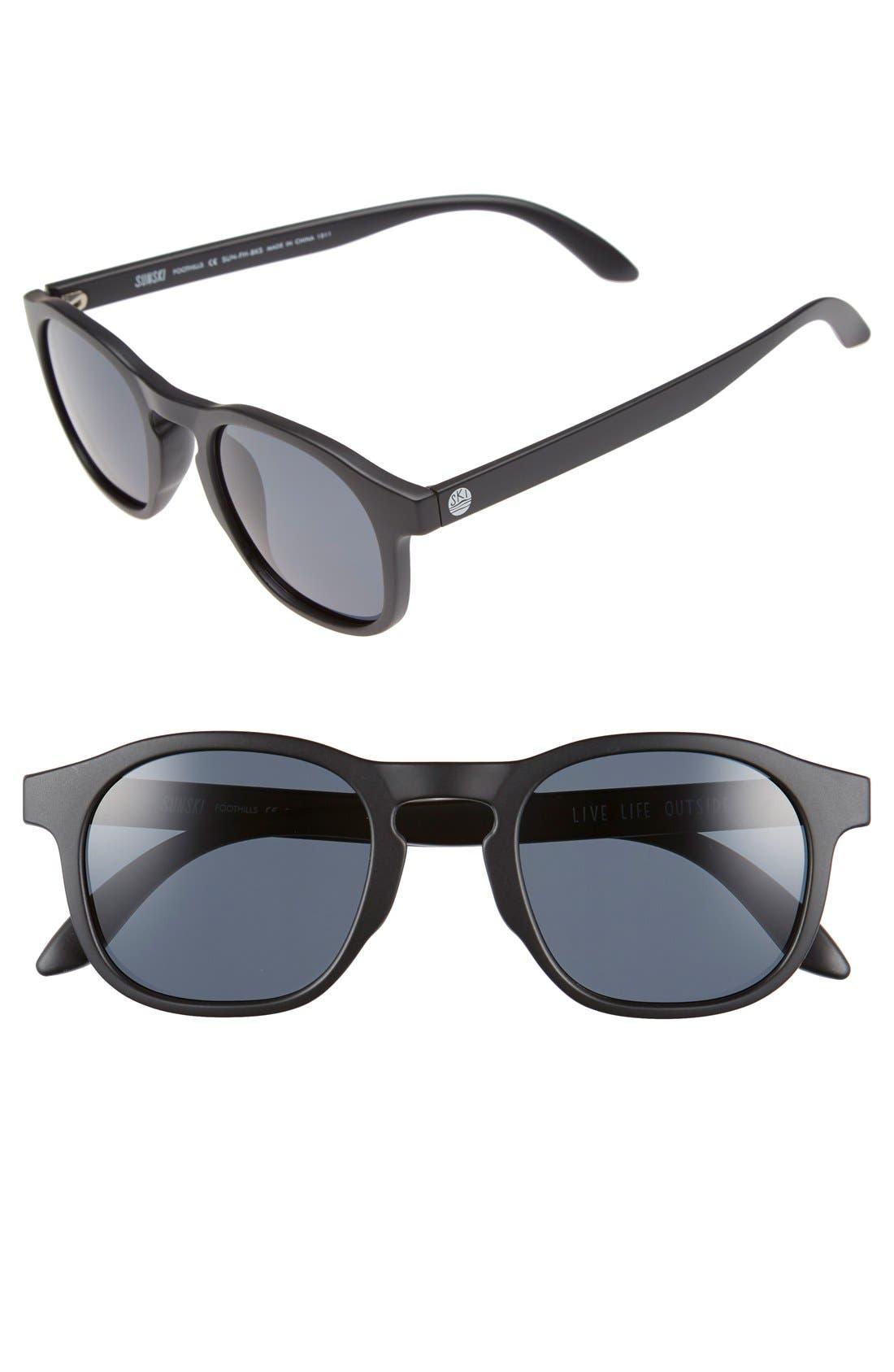 Sunski 'Foothills' 47mm Polarized Retro Sunglasses