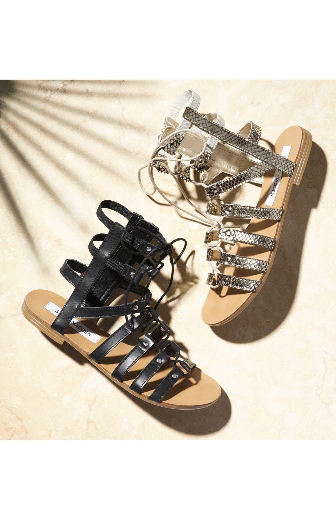 Alternate Image 5  - Steve Madden 'Sparra' Gladiator Sandal (Women)