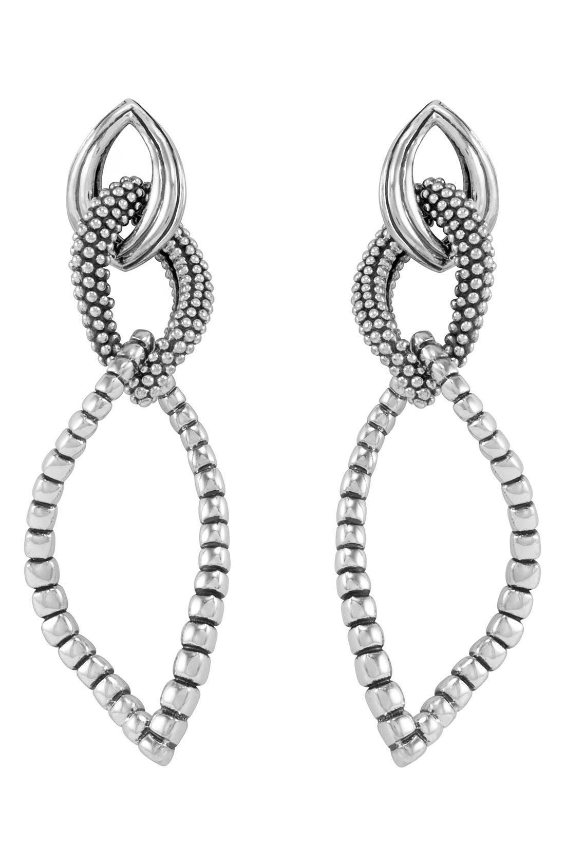 Lagos Open Drop Earrings