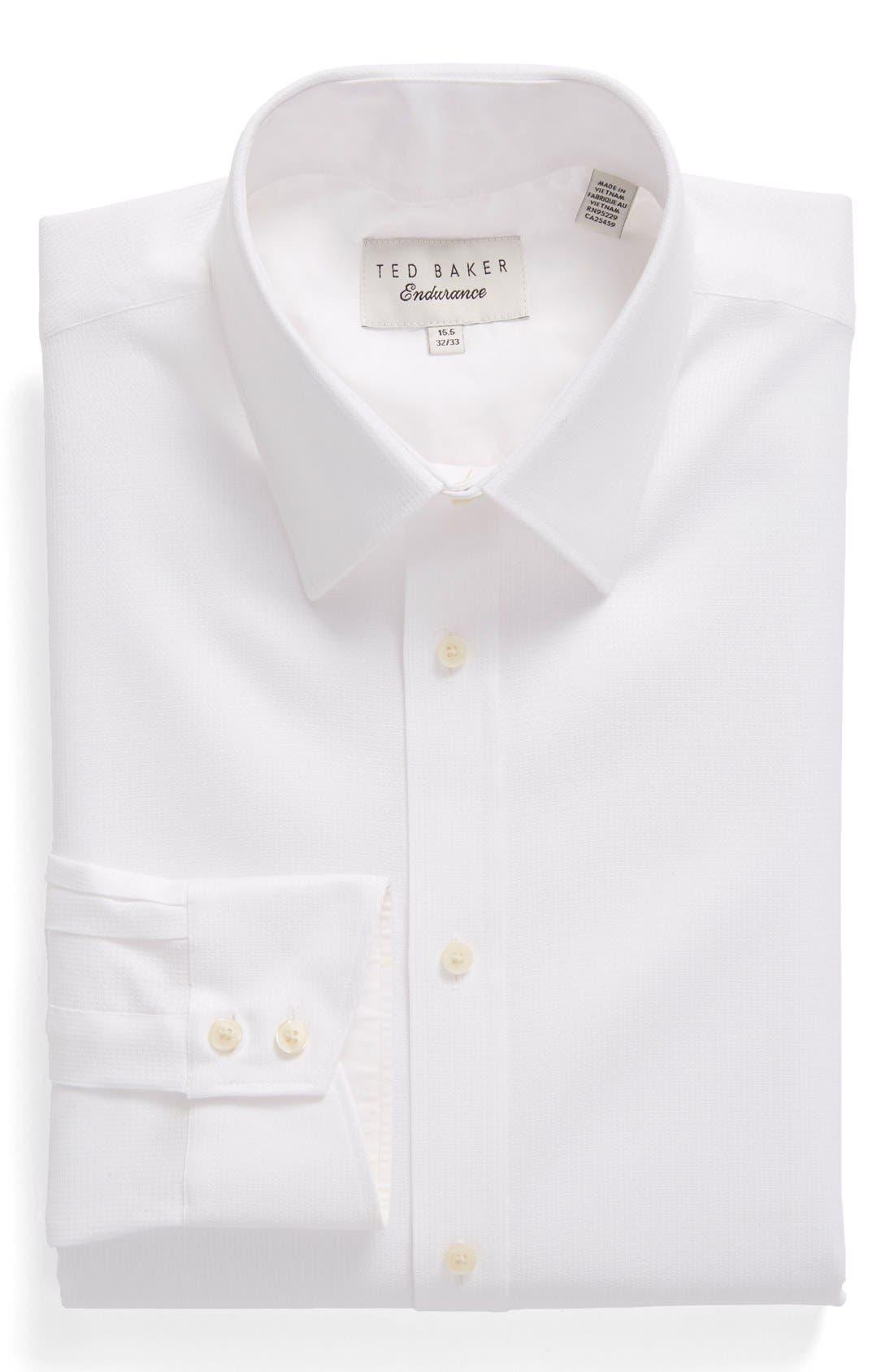 Main Image - Ted Baker London 'Yaholo' Trim Fit Print Dress Shirt
