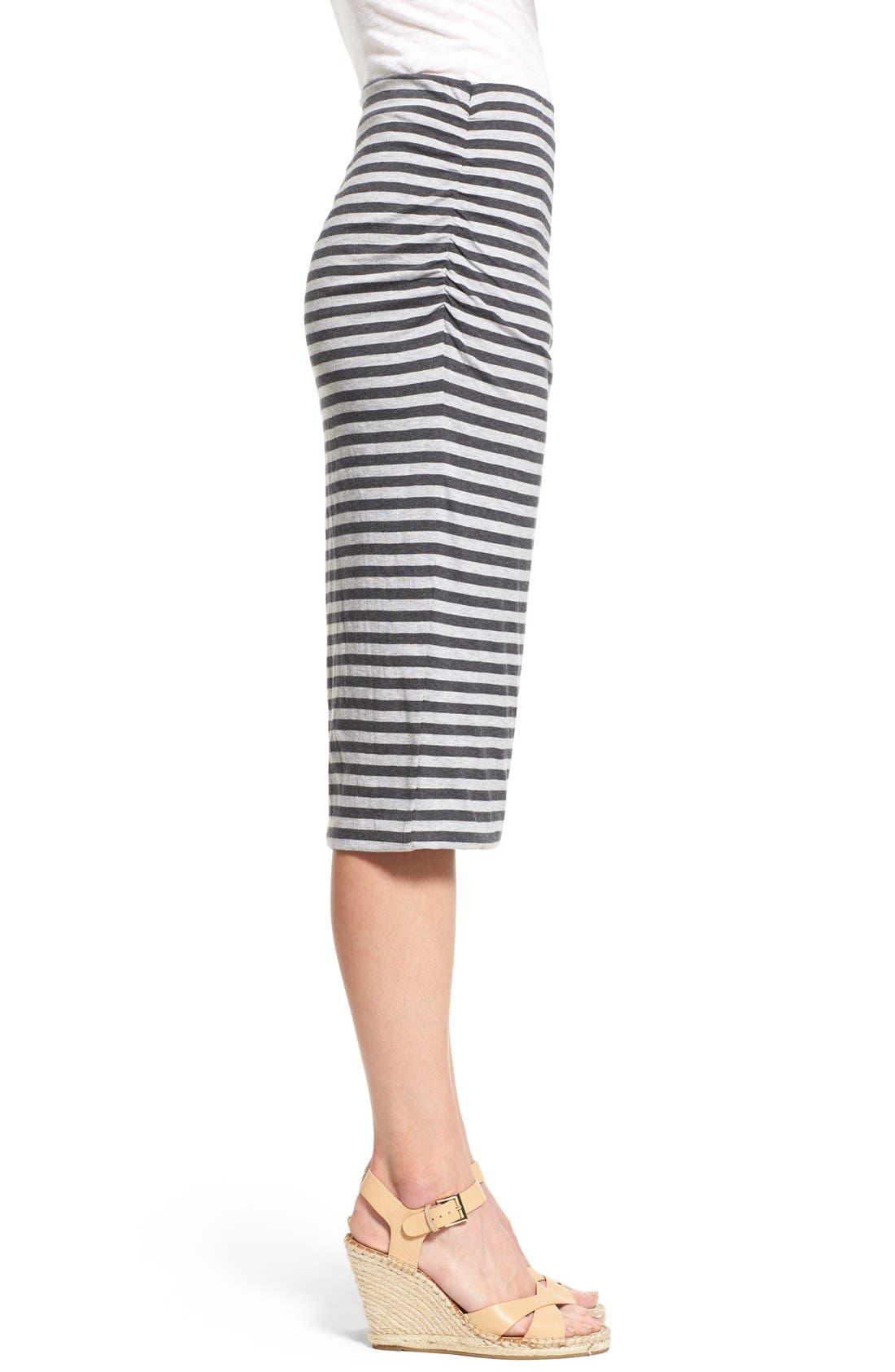 Alternate Image 3  - Caslon® Side Ruched Tube Skirt