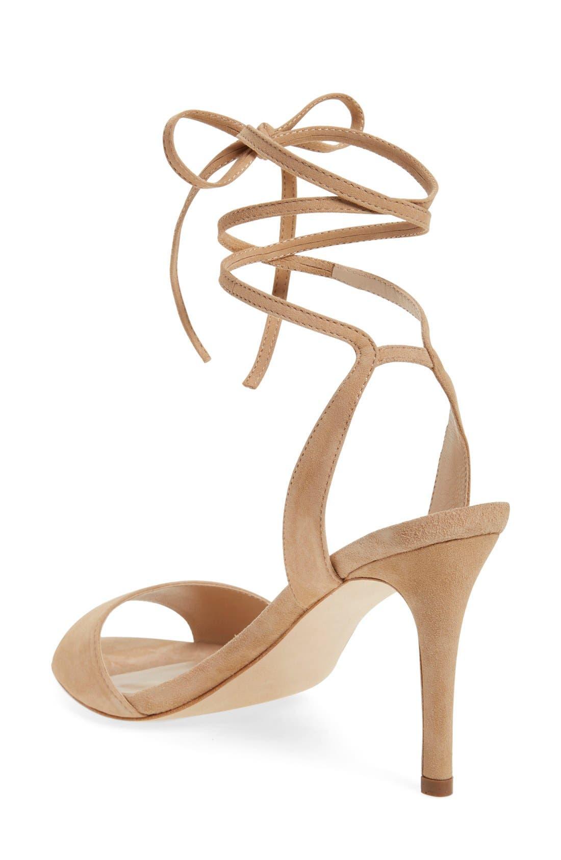 Alternate Image 2  - Loeffler Randall 'Elyse' Lace-Up Sandal (Women)