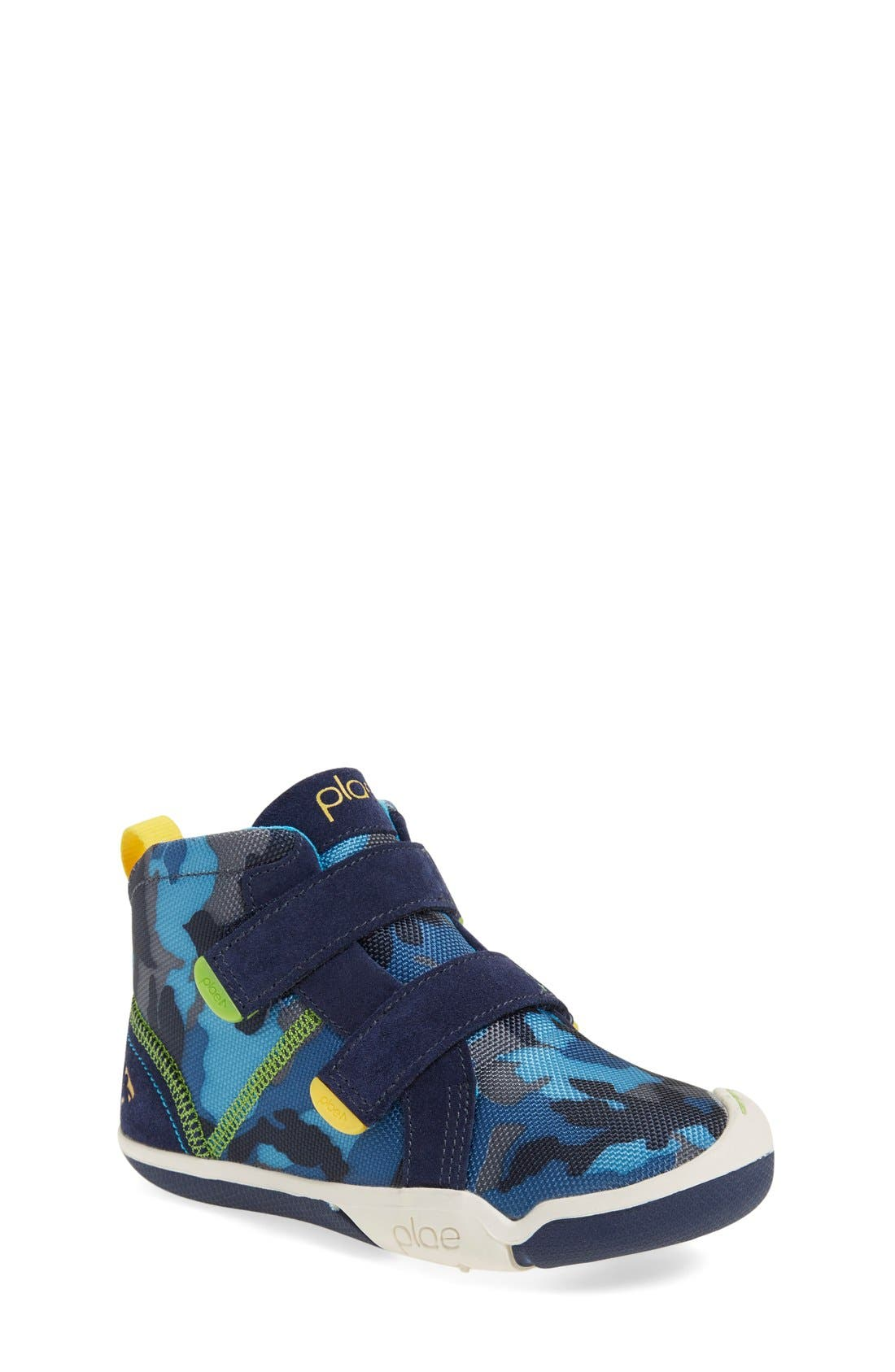 PLAE 'Max' Customizable High Top Sneaker (Walker, Toddler & Little Kid) (Nordstrom Exclusive)