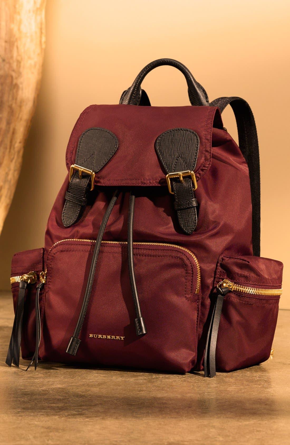 Alternate Image 8  - Burberry 'Medium Runway Rucksack' Nylon Backpack