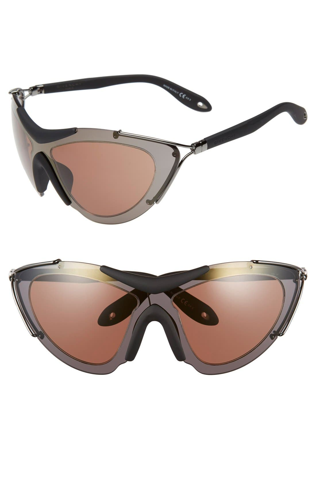 GIVENCHY '7013/S' 99mm Shield Sunglasses