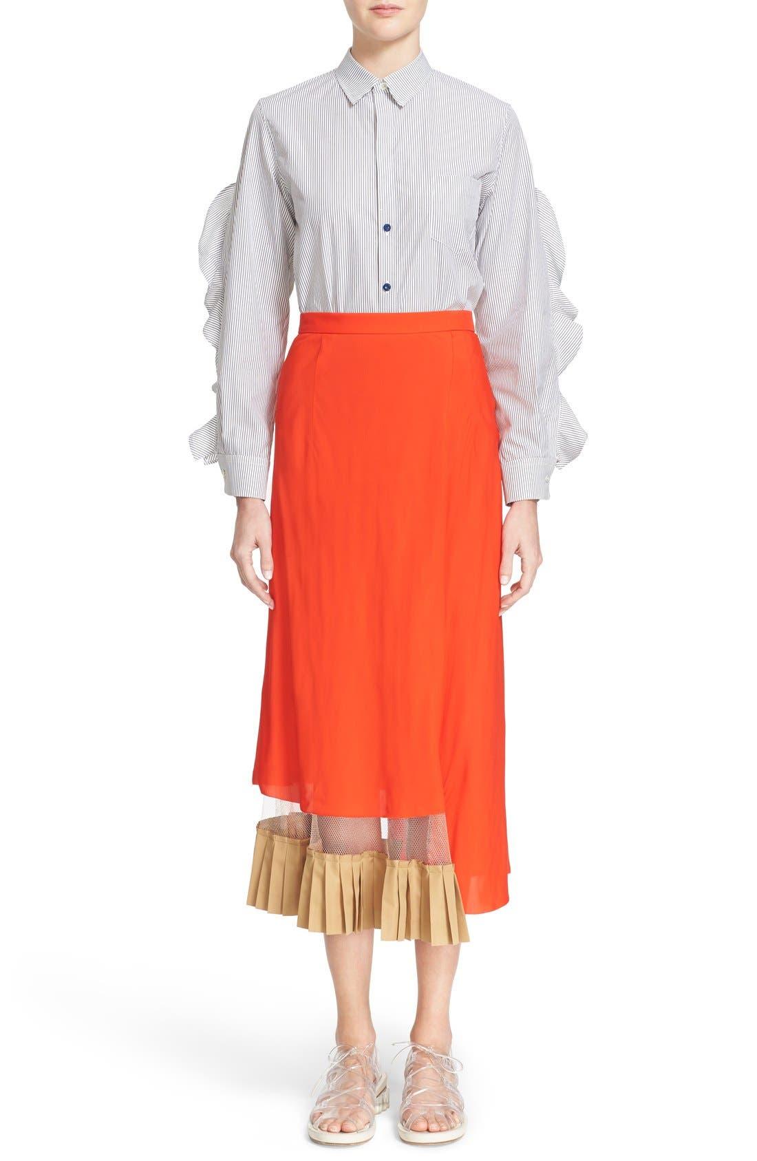 Alternate Image 7  - TOGA Asymmetrical Illusion Hem Skirt